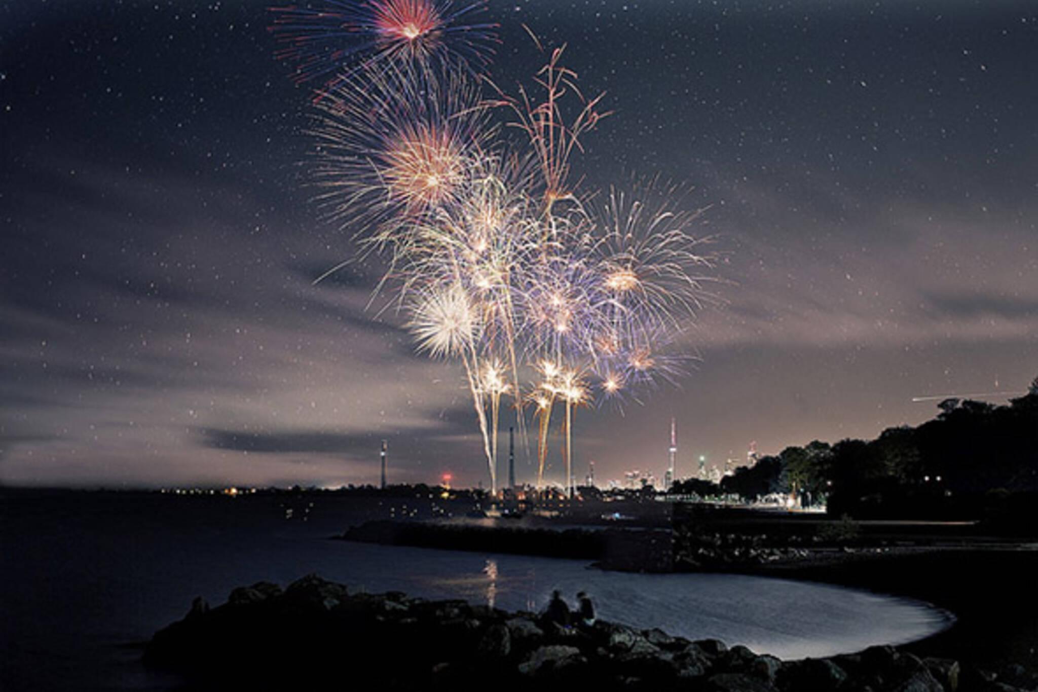 fireworks victoria day
