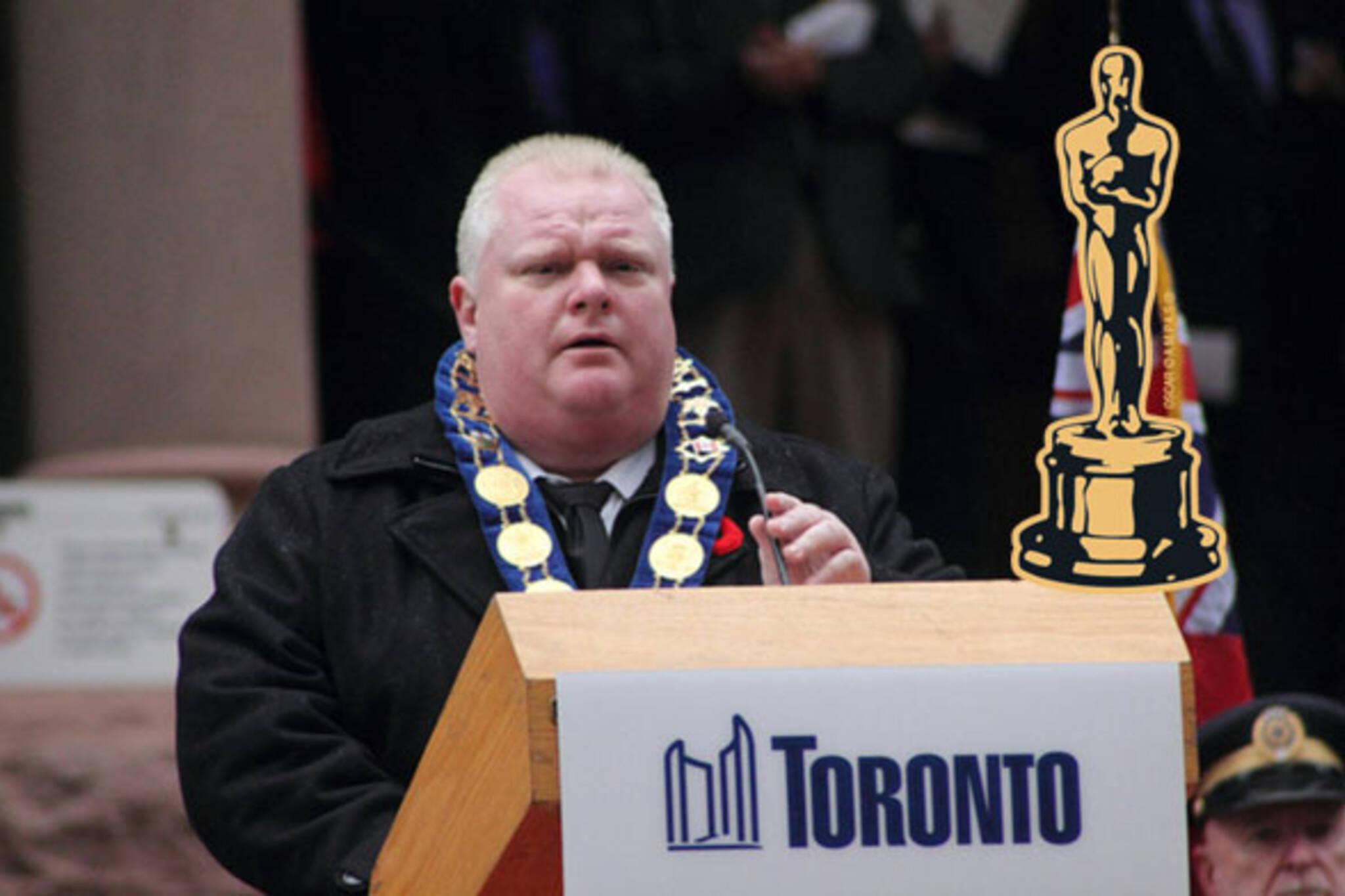 Rob Ford Oscars