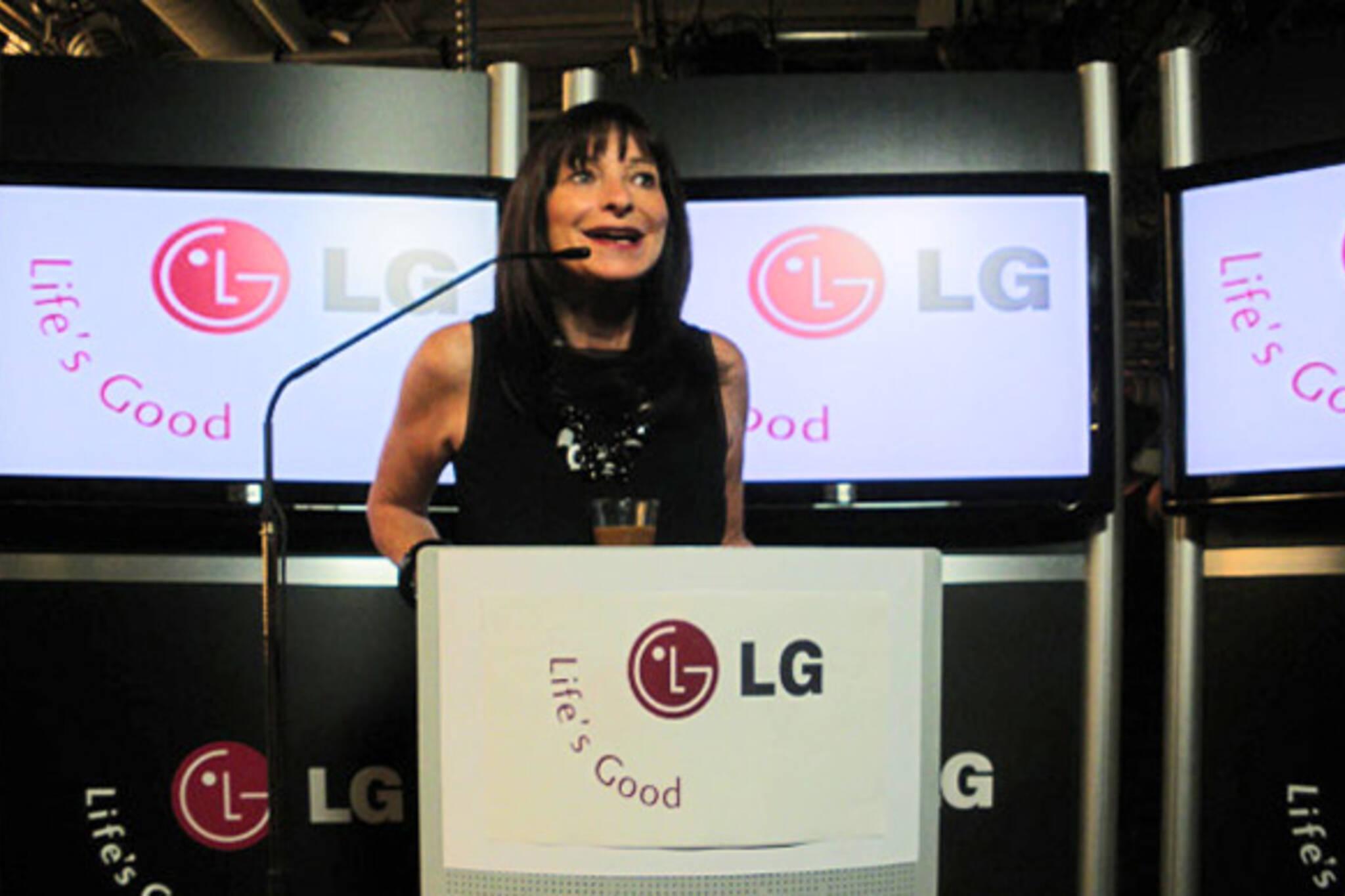 LG Canada Press Conference