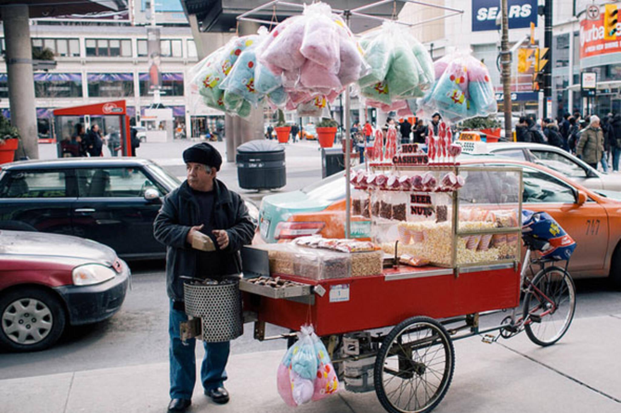 toronto snack cart
