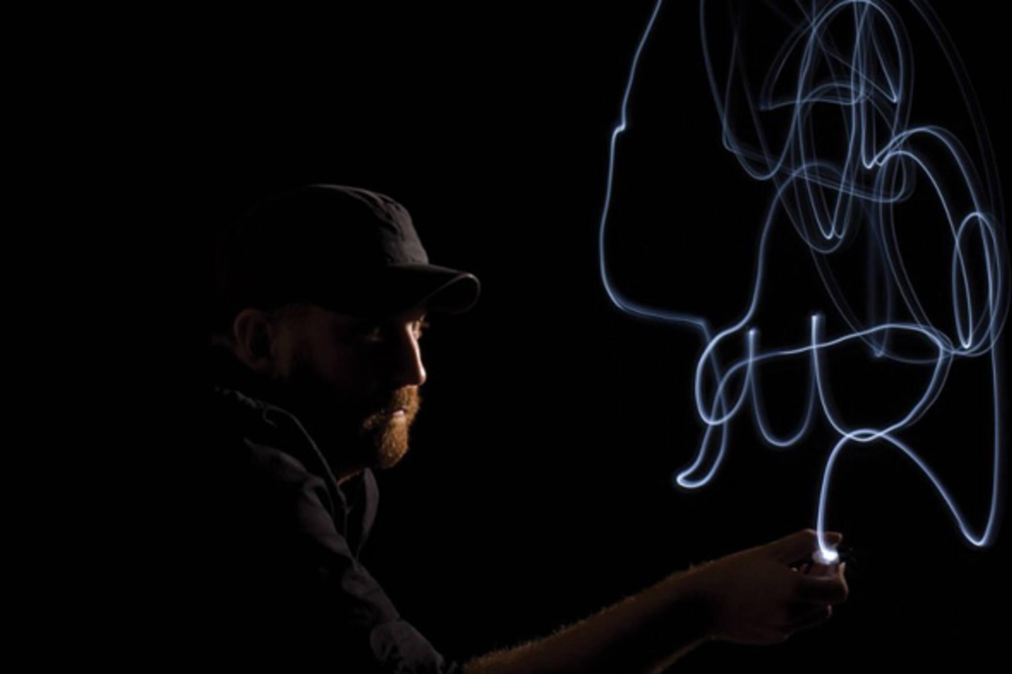 lightpainting baitshop