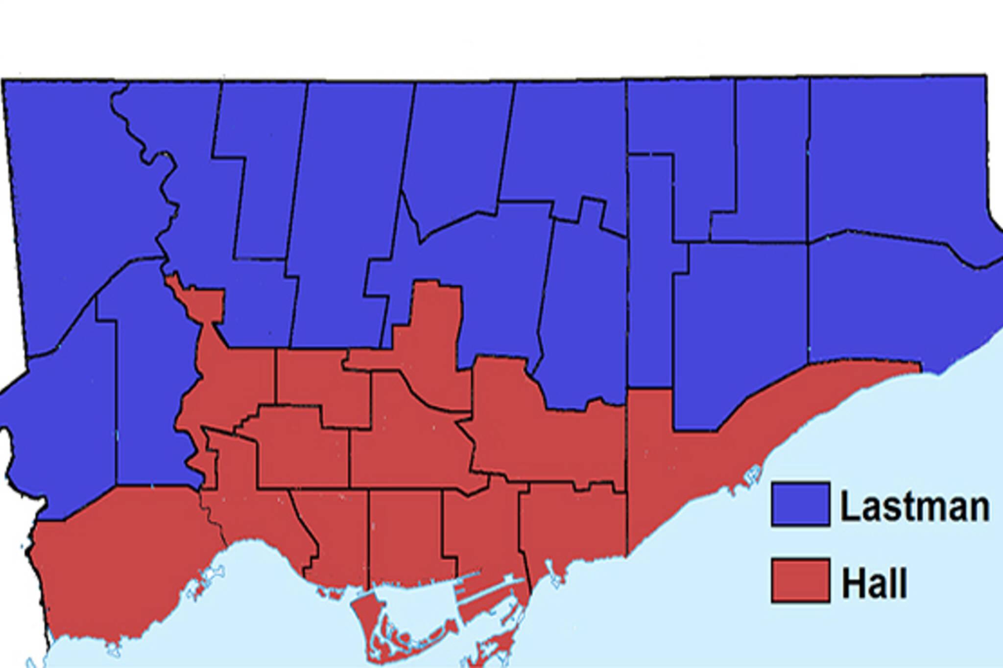 Toronto election results 1997