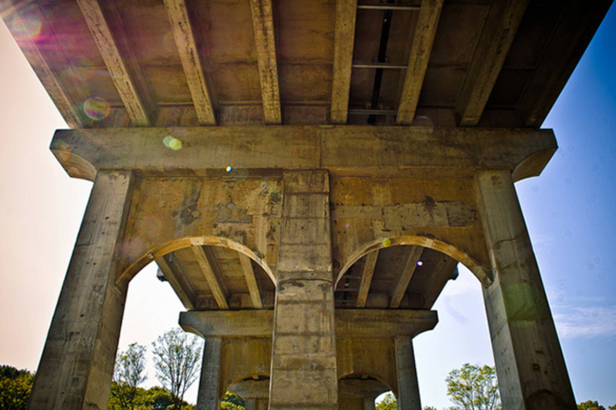 under, gardiner, expressway