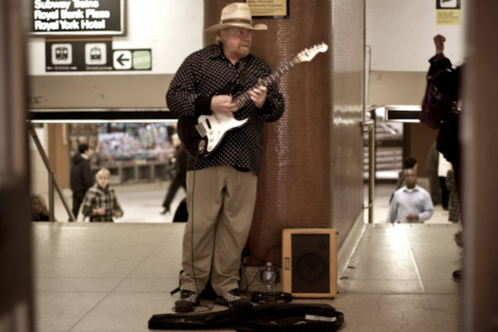 TTC Busker Mike Green