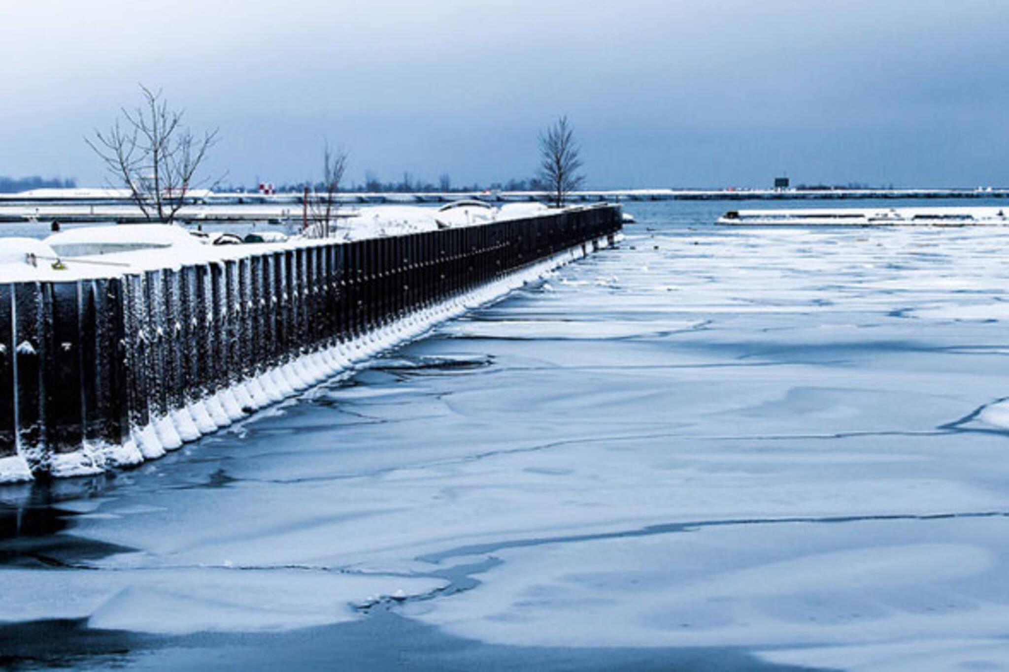 toronto lake ice