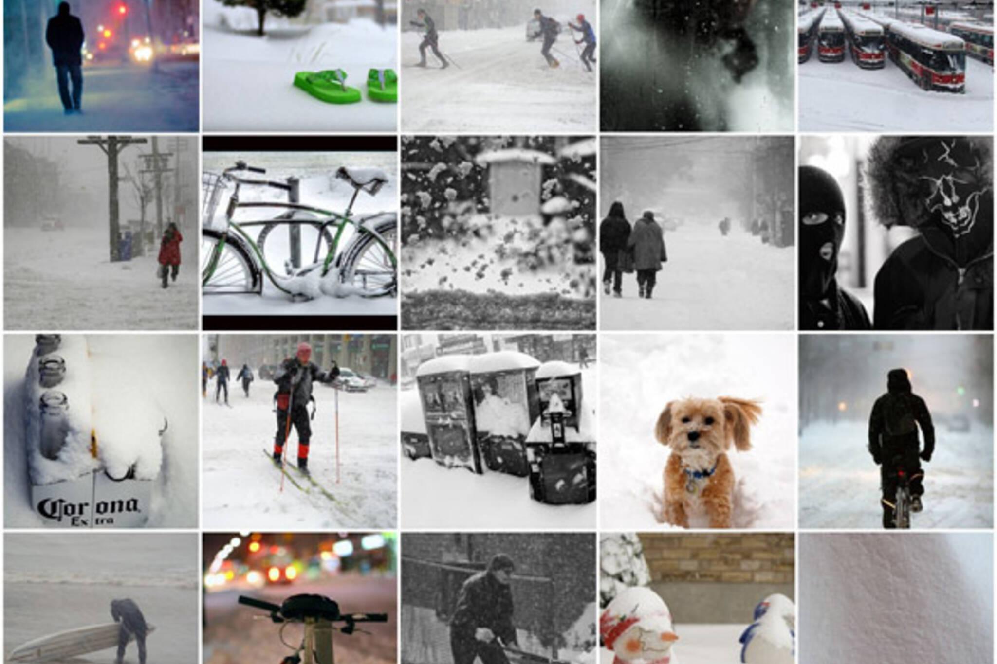 Toronto Snowstorm December 2007 Photos