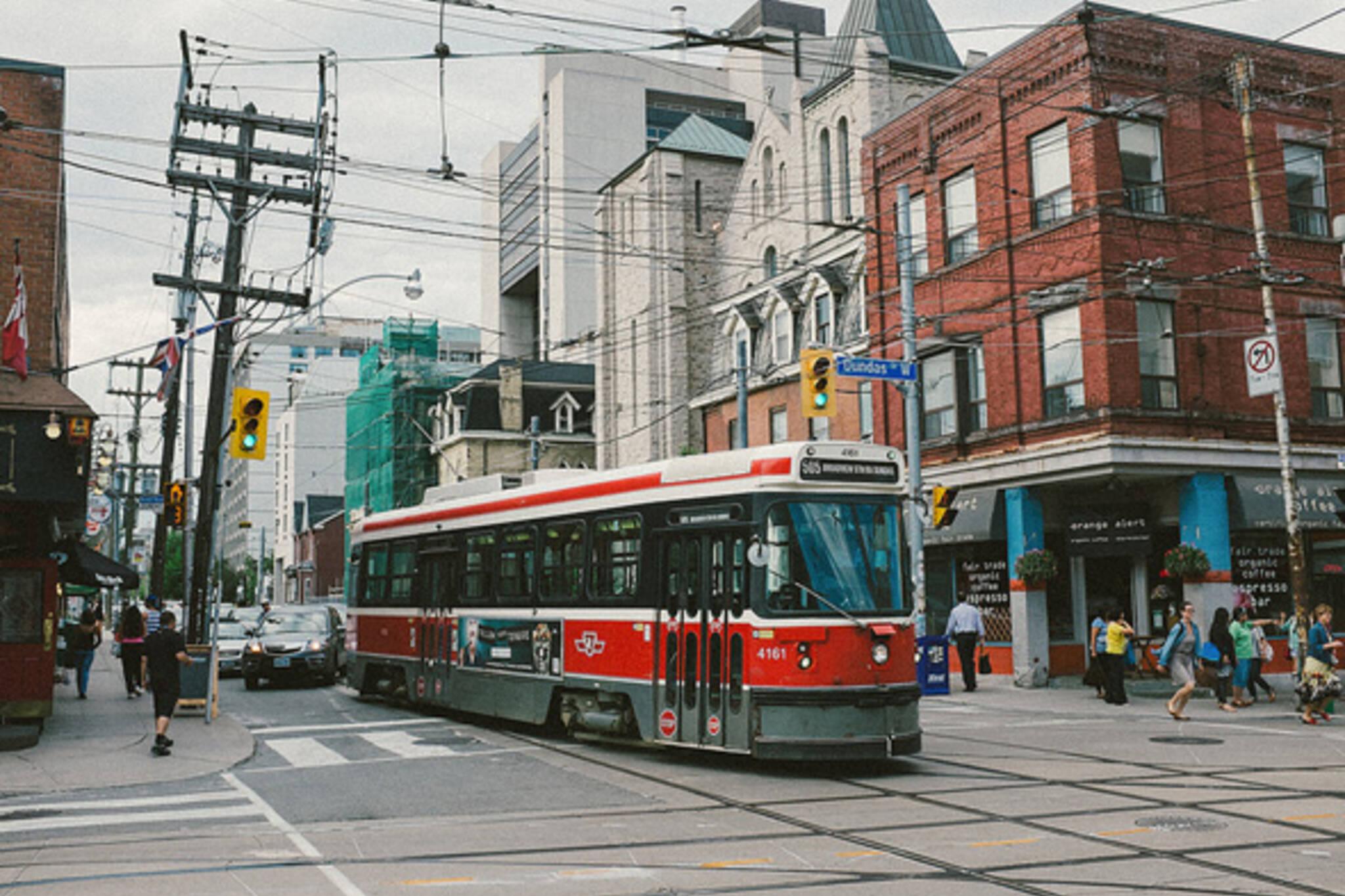 Toronto streetcar ttc