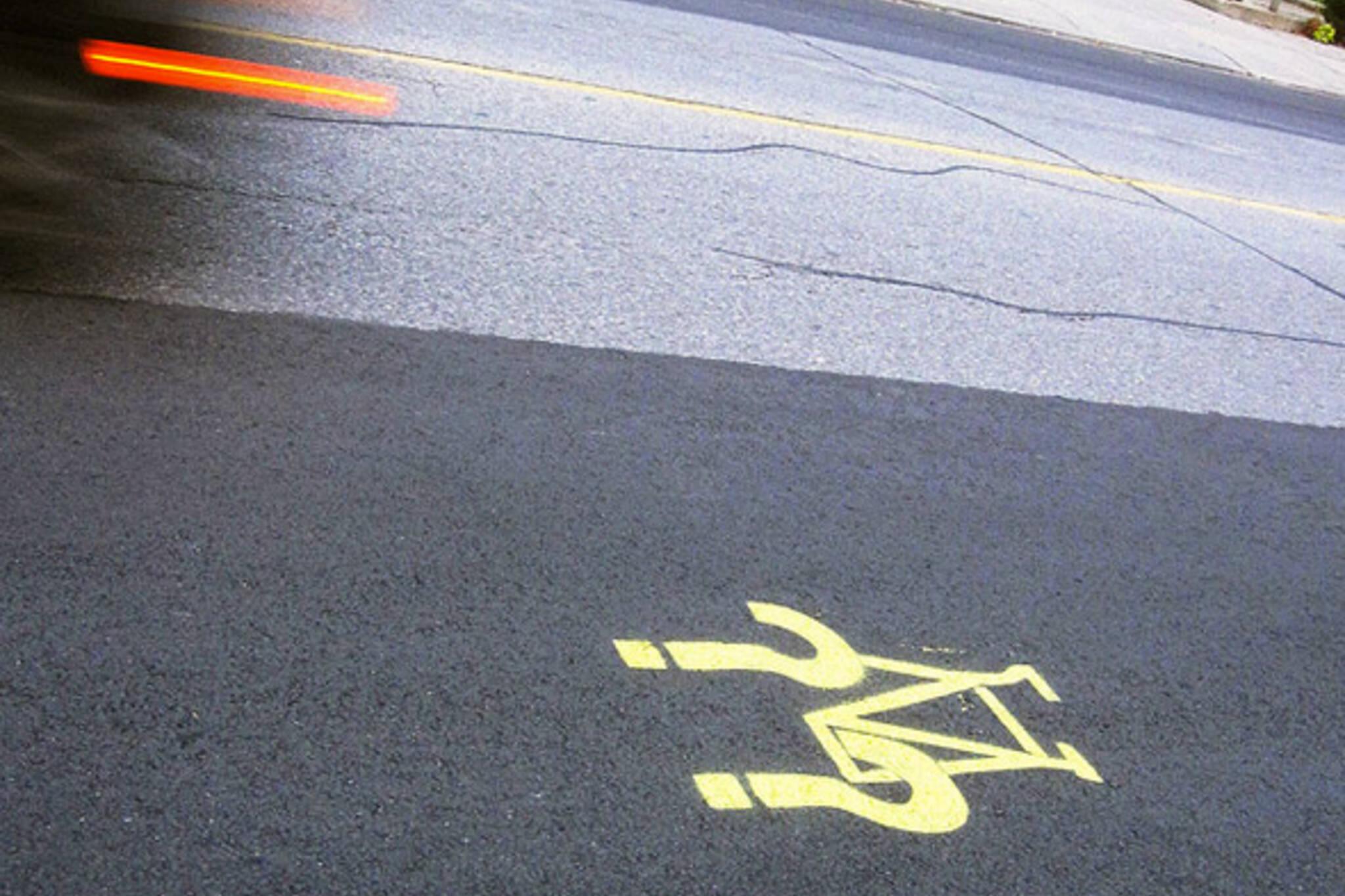 NDP cyclist buffer zone metre