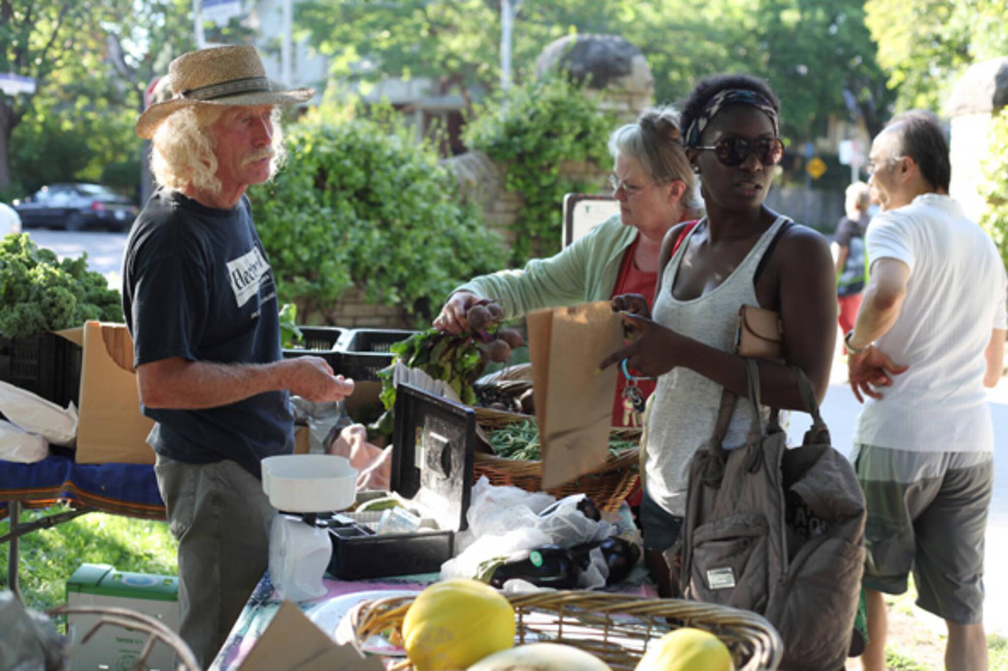 Riverdale Farmers market