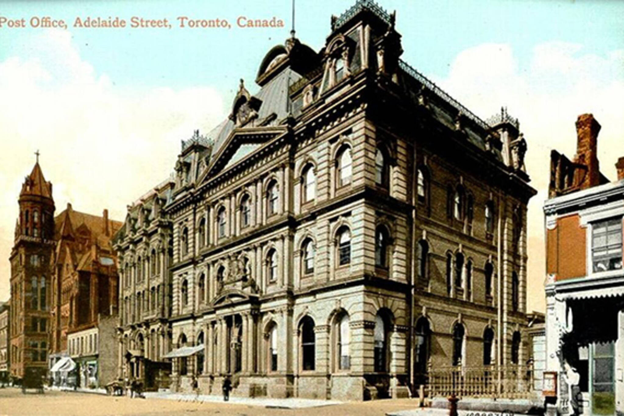 post offices history toronto