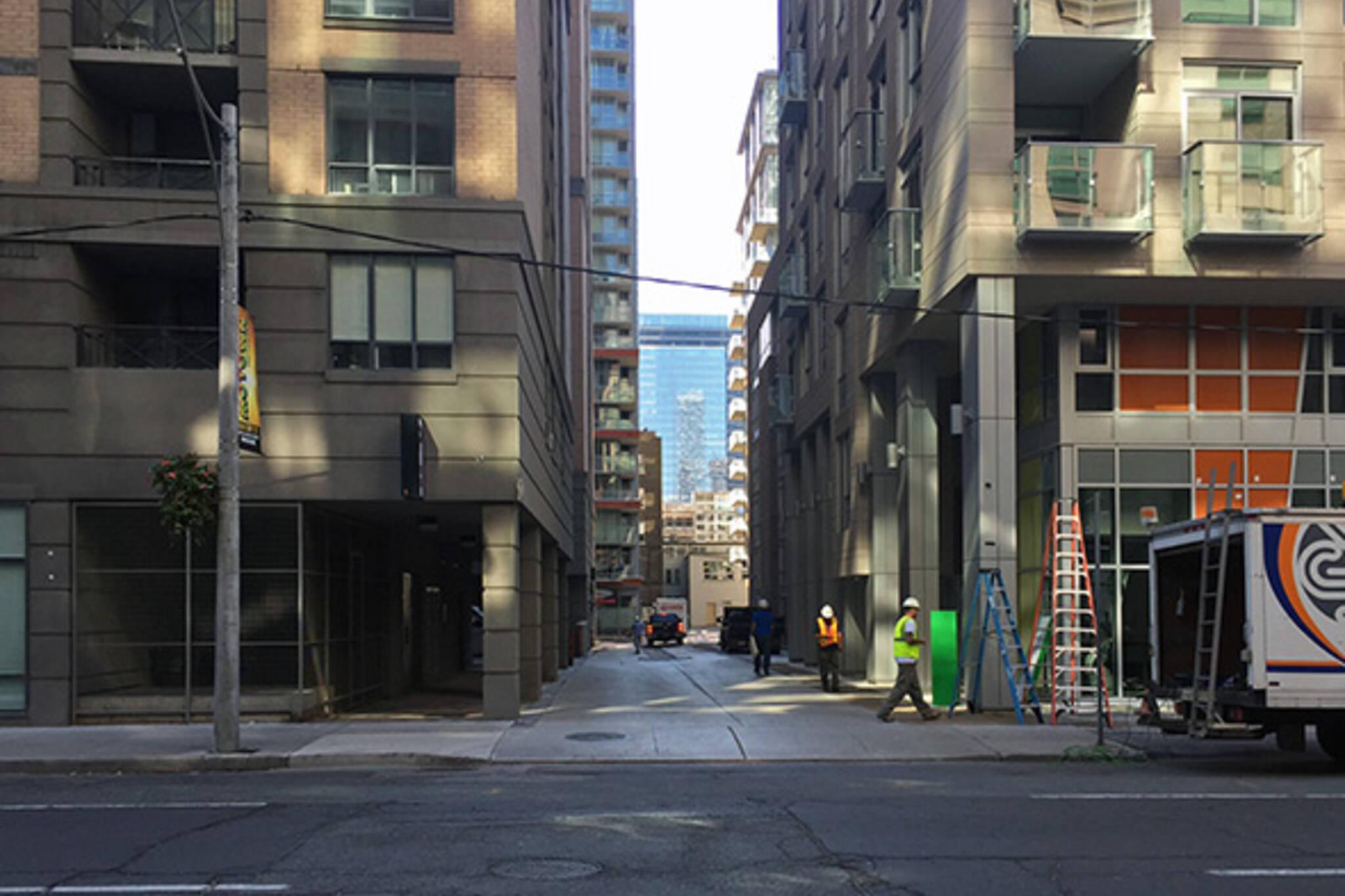 Twilight Zone Laneway Toronto