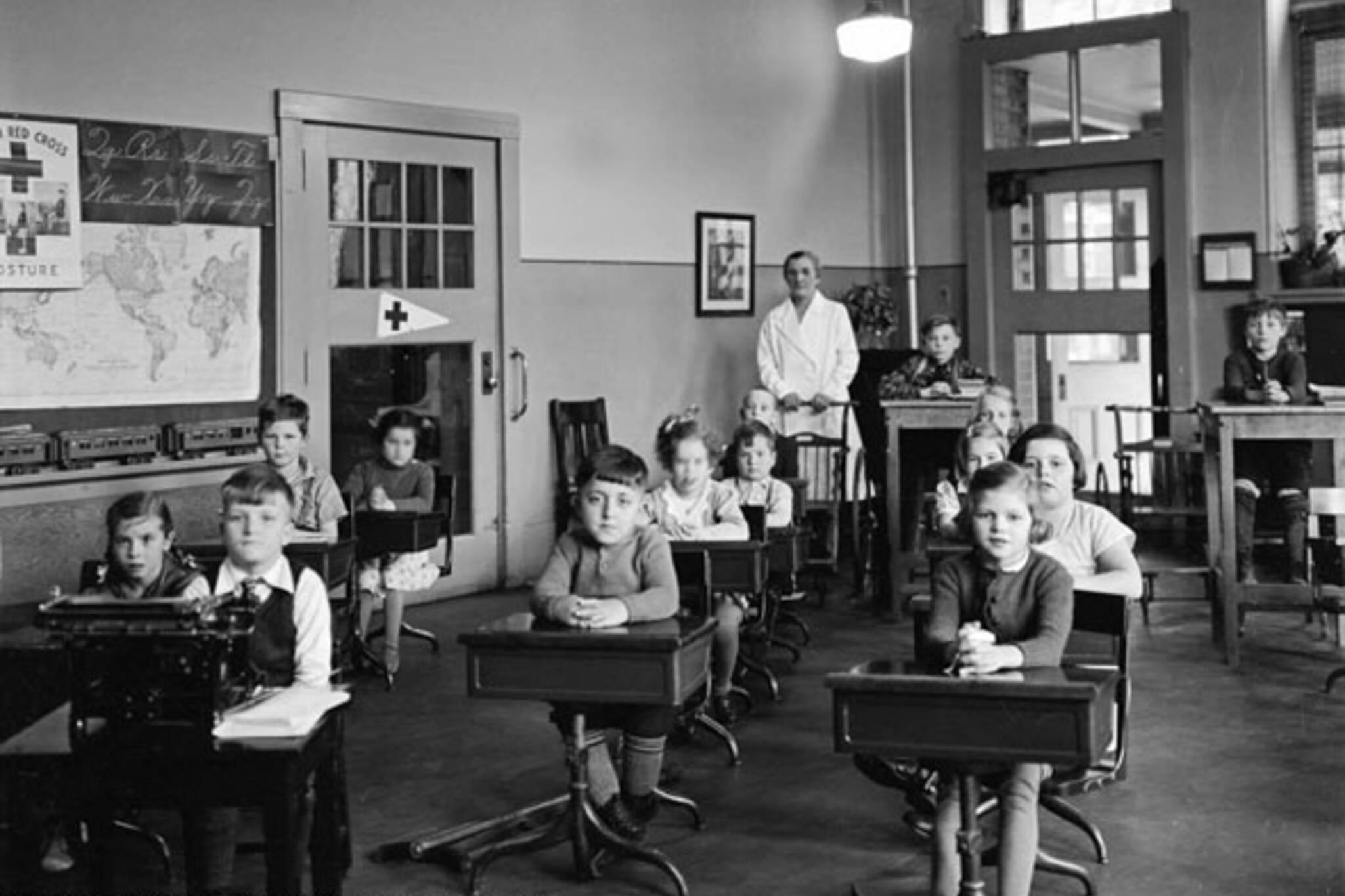 toronto vintage classroom