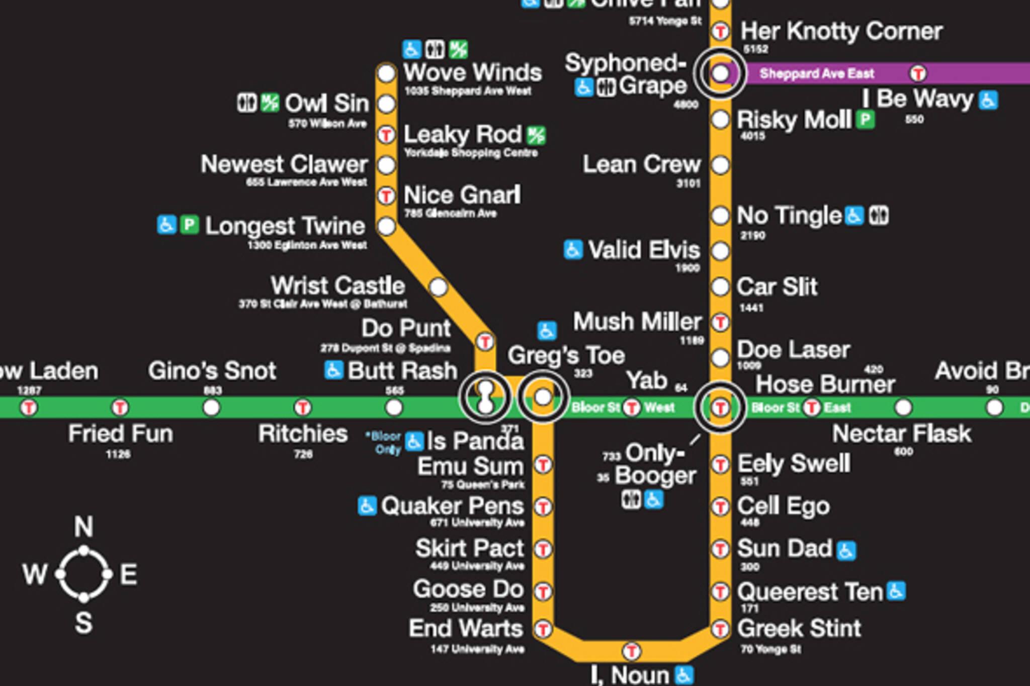 TTC Subway Station Naming Rights