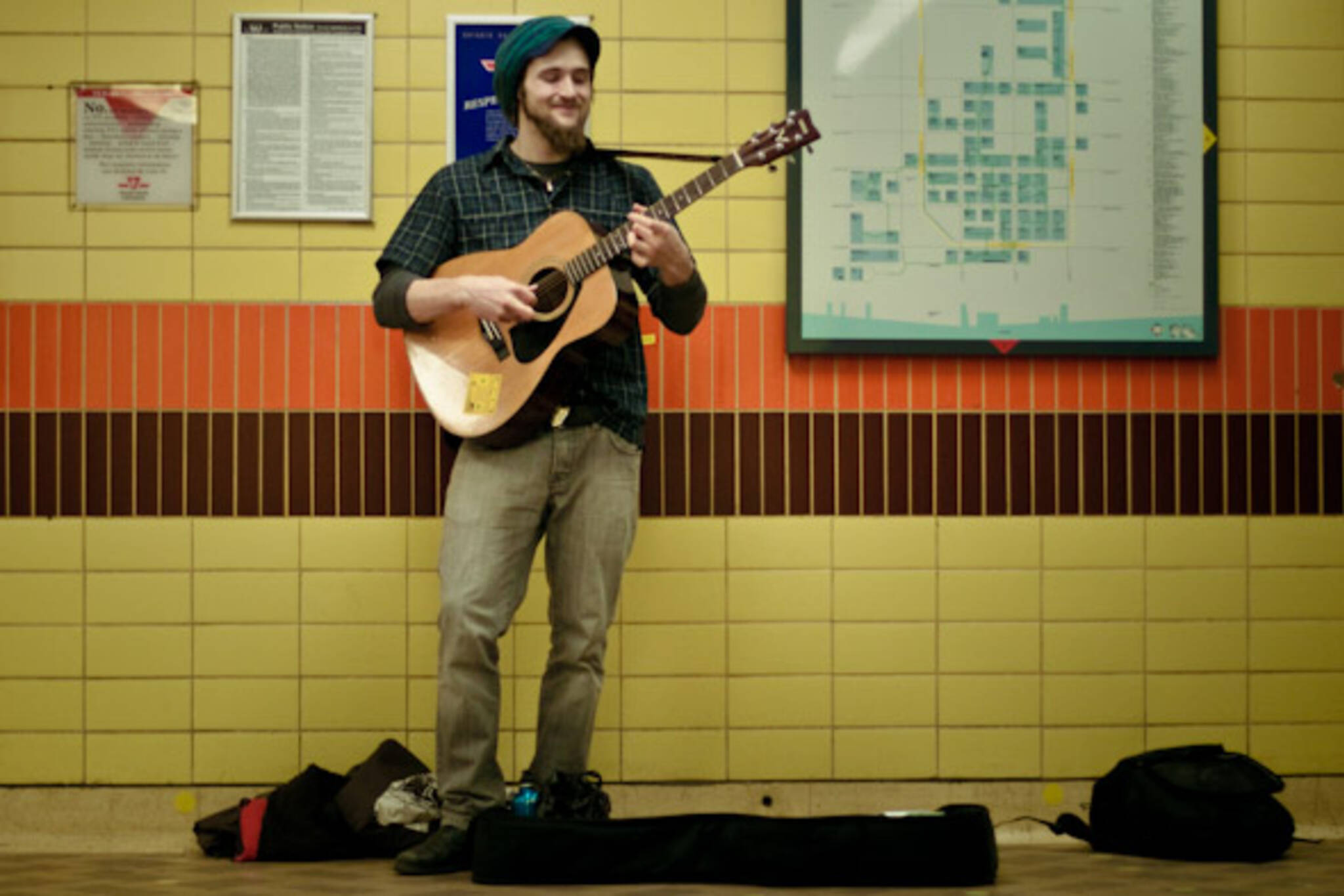 TTC Busker Lane Argue