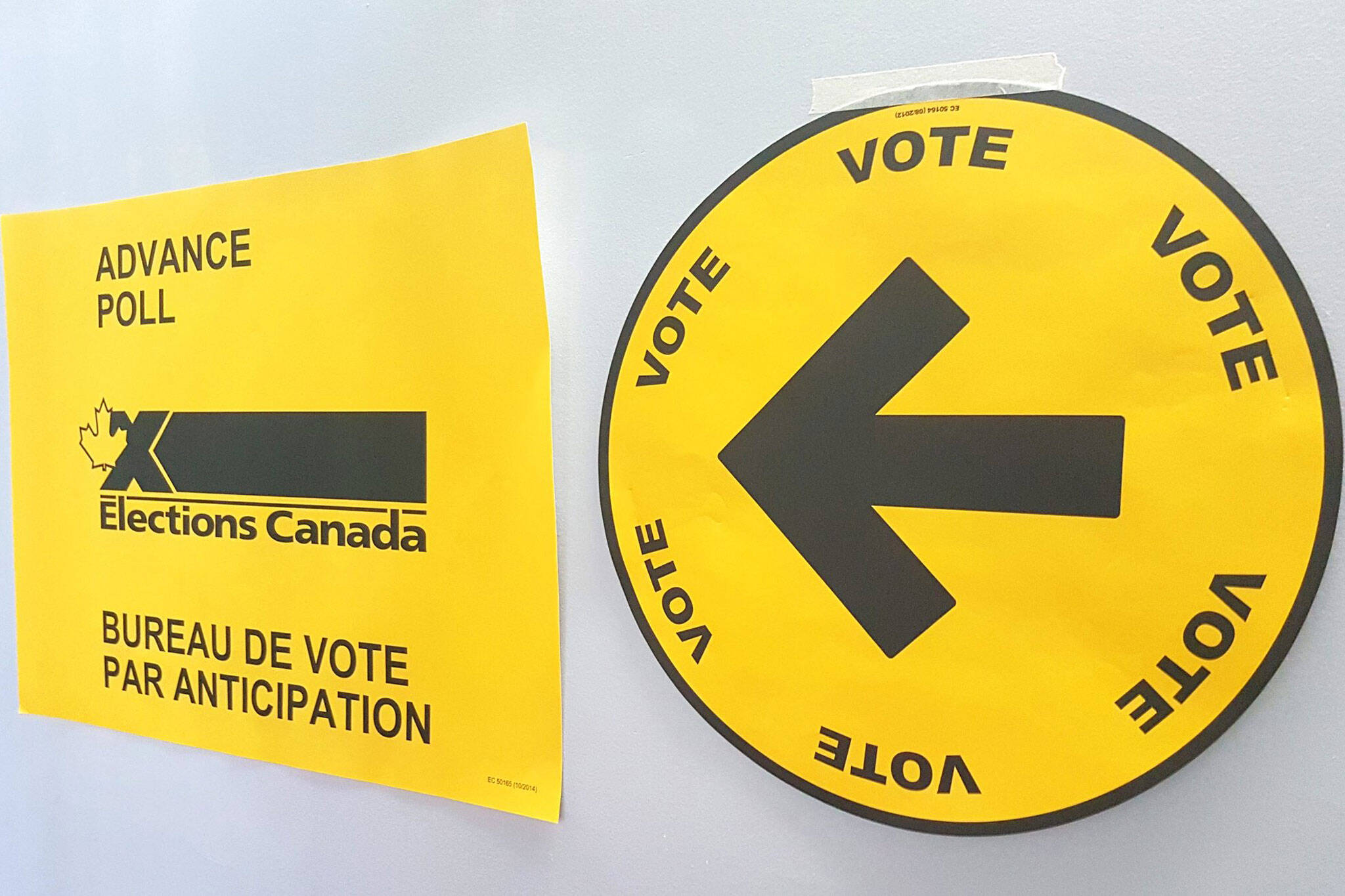 Early Voting In Toronto For The 2019 Federal Election In Canada