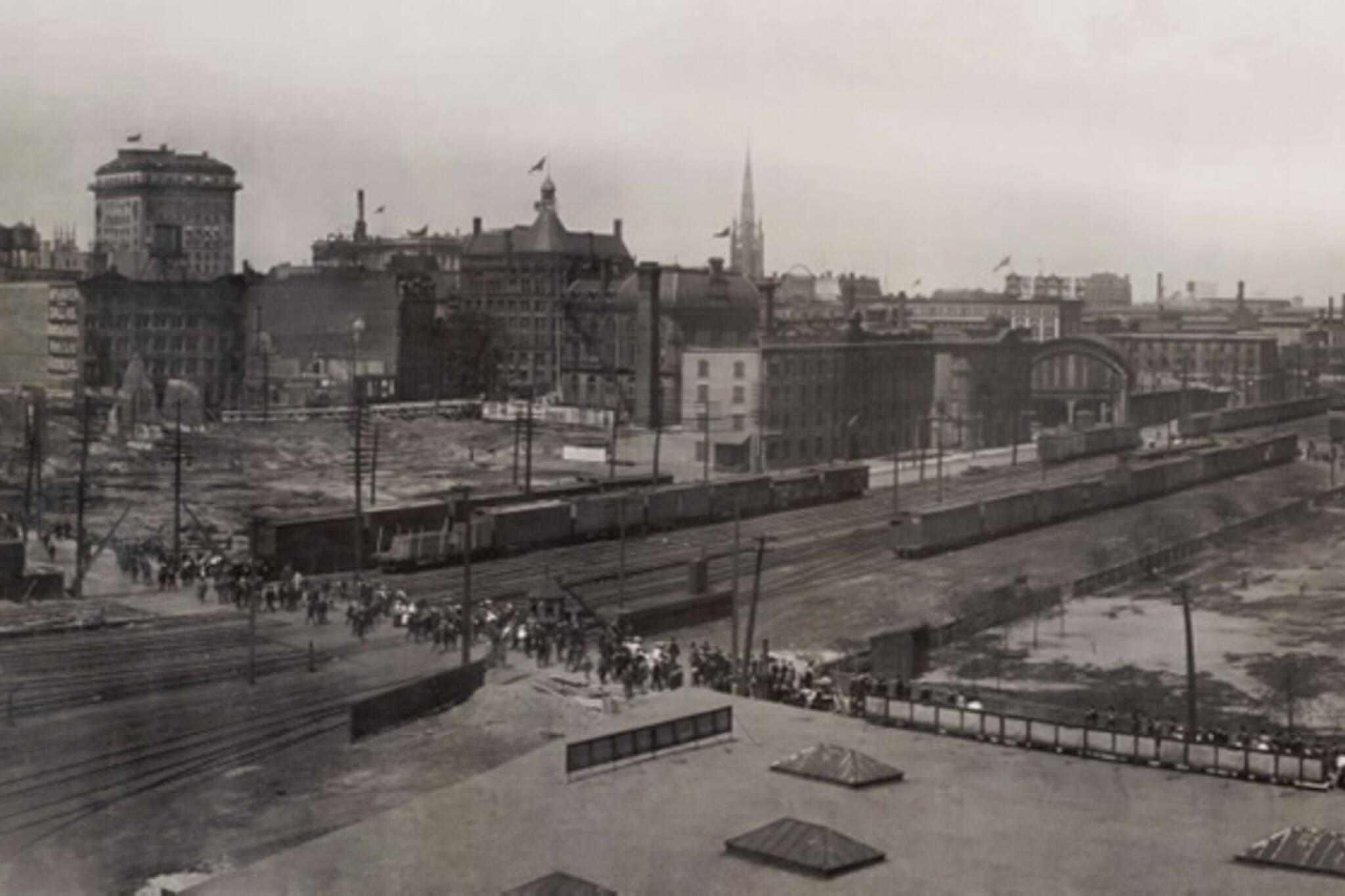 panorama 1907 Toronto
