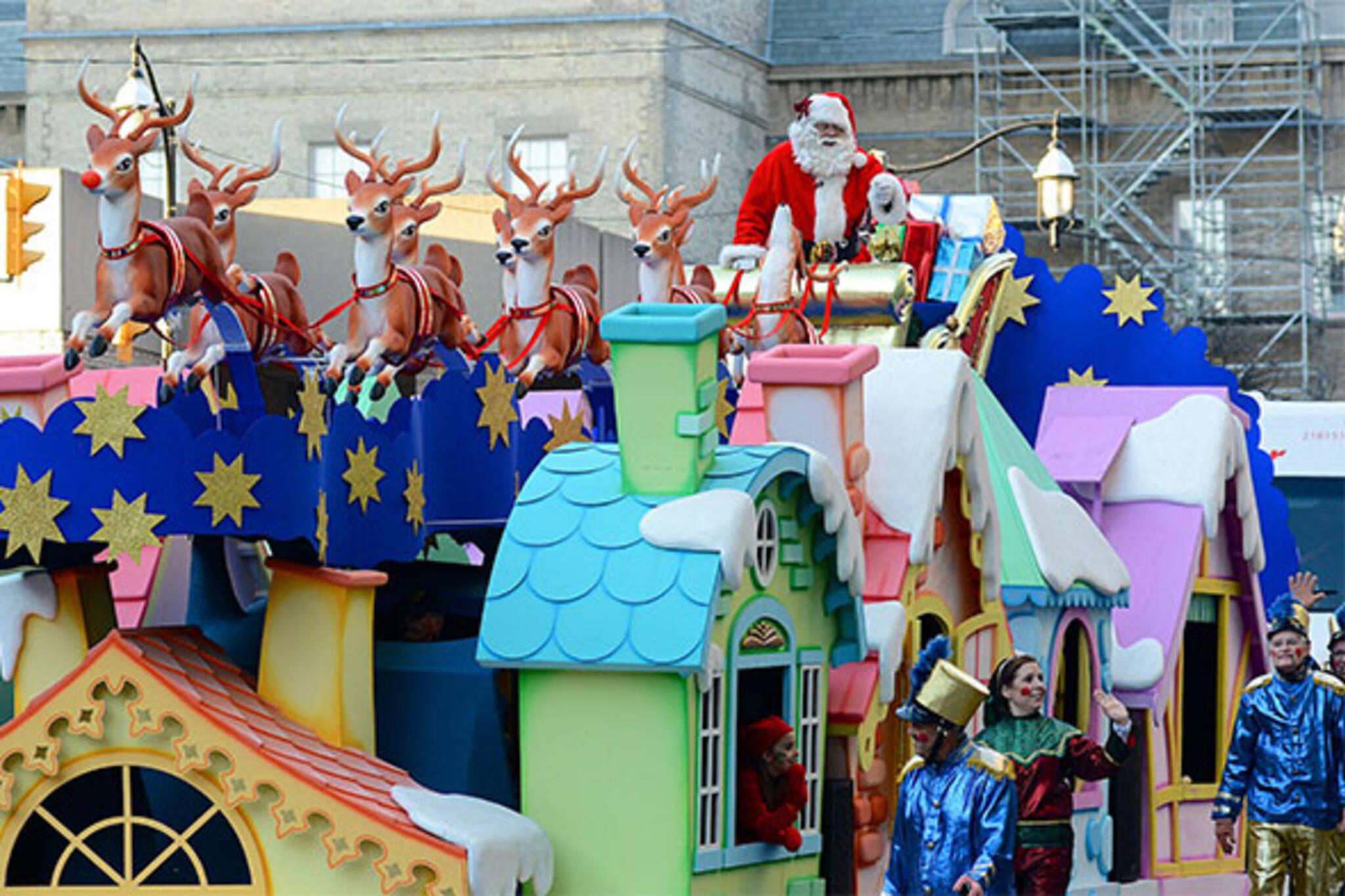 santa claus parade toronto