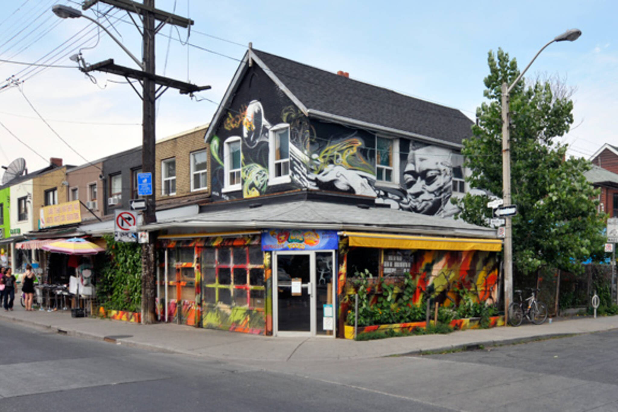 Commissioned Mural 257 Augusta Toronto