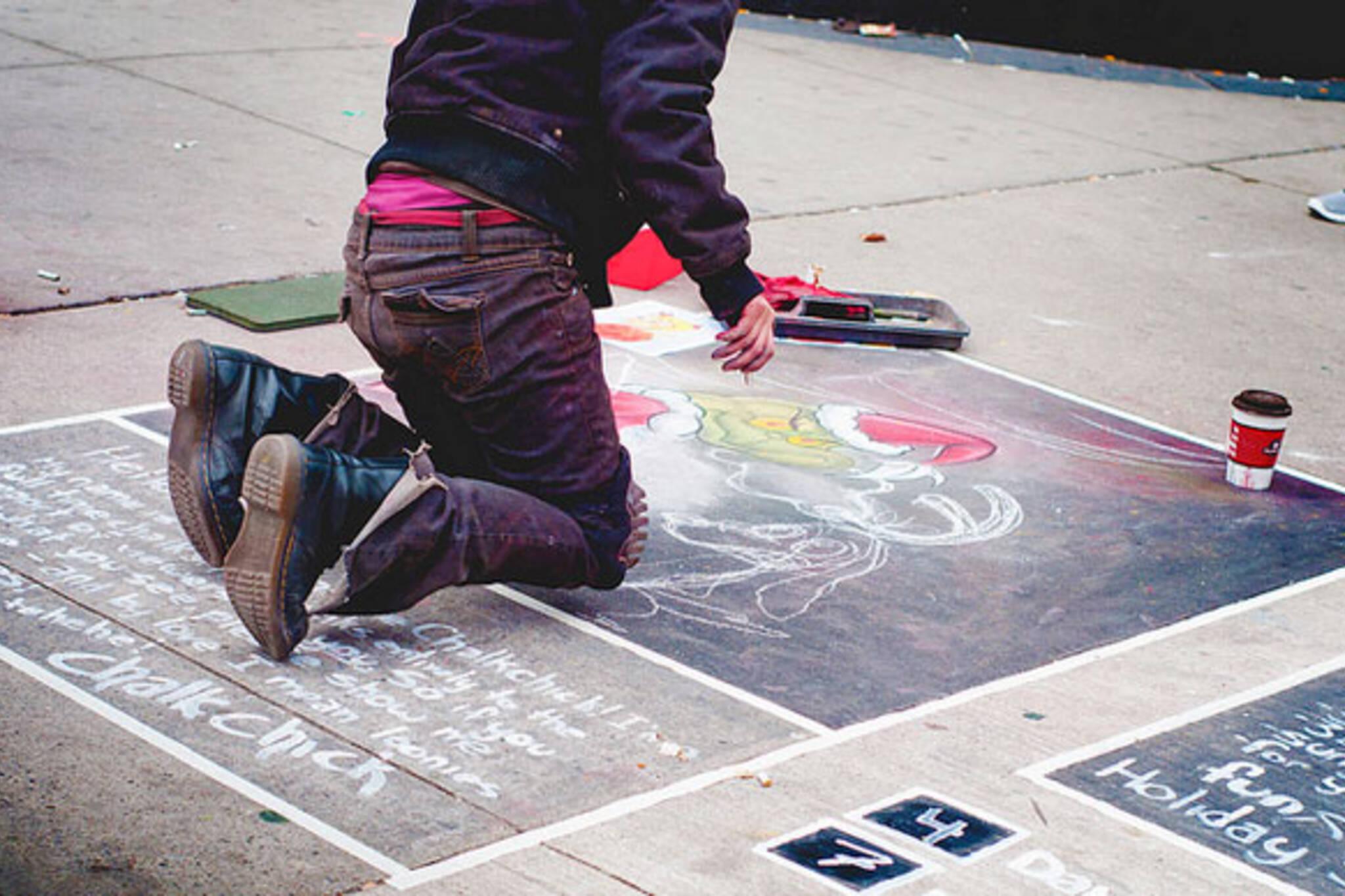 Chalk Drawing Toronto