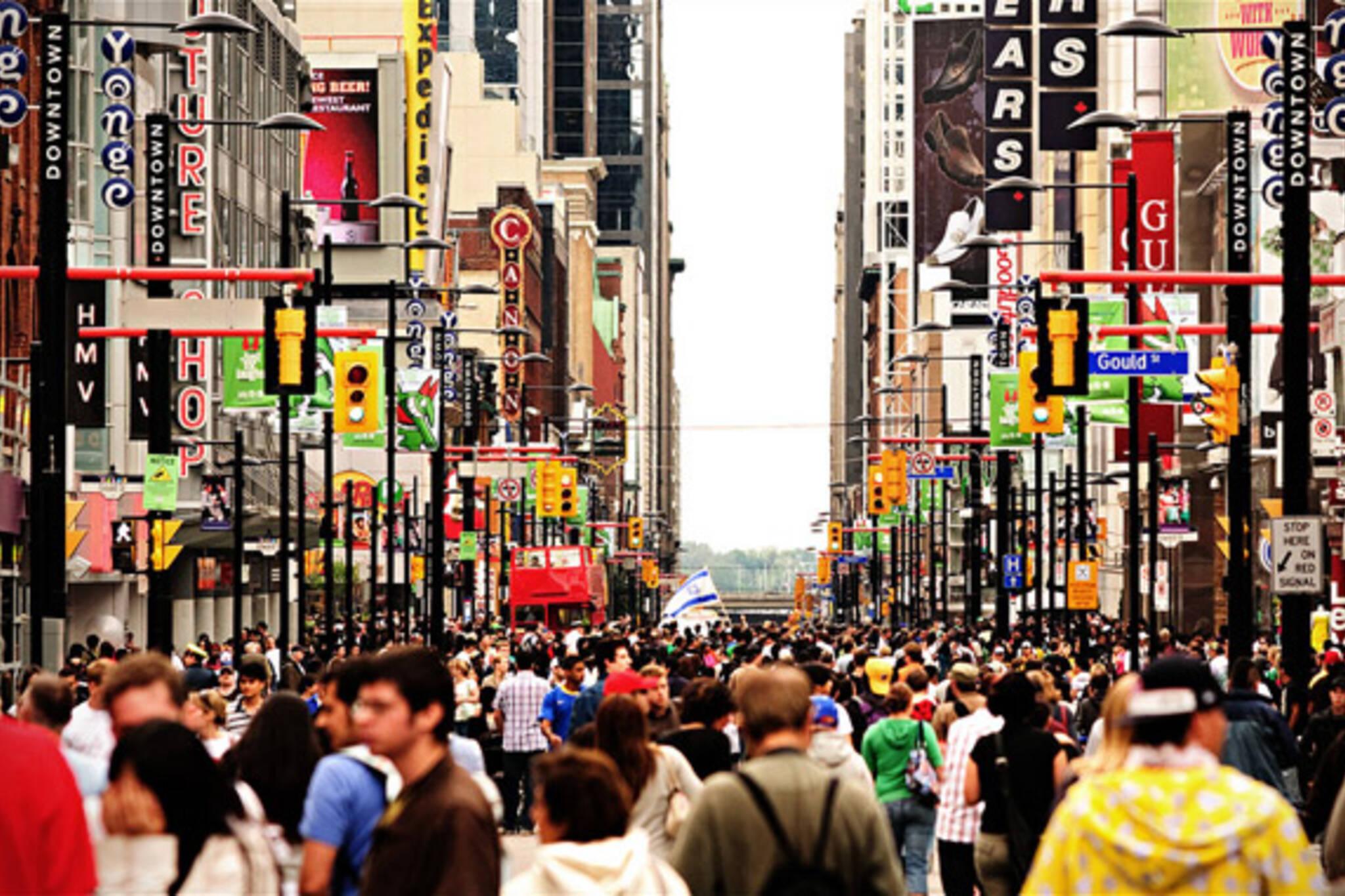 Yonge Street Pedestrian Mall