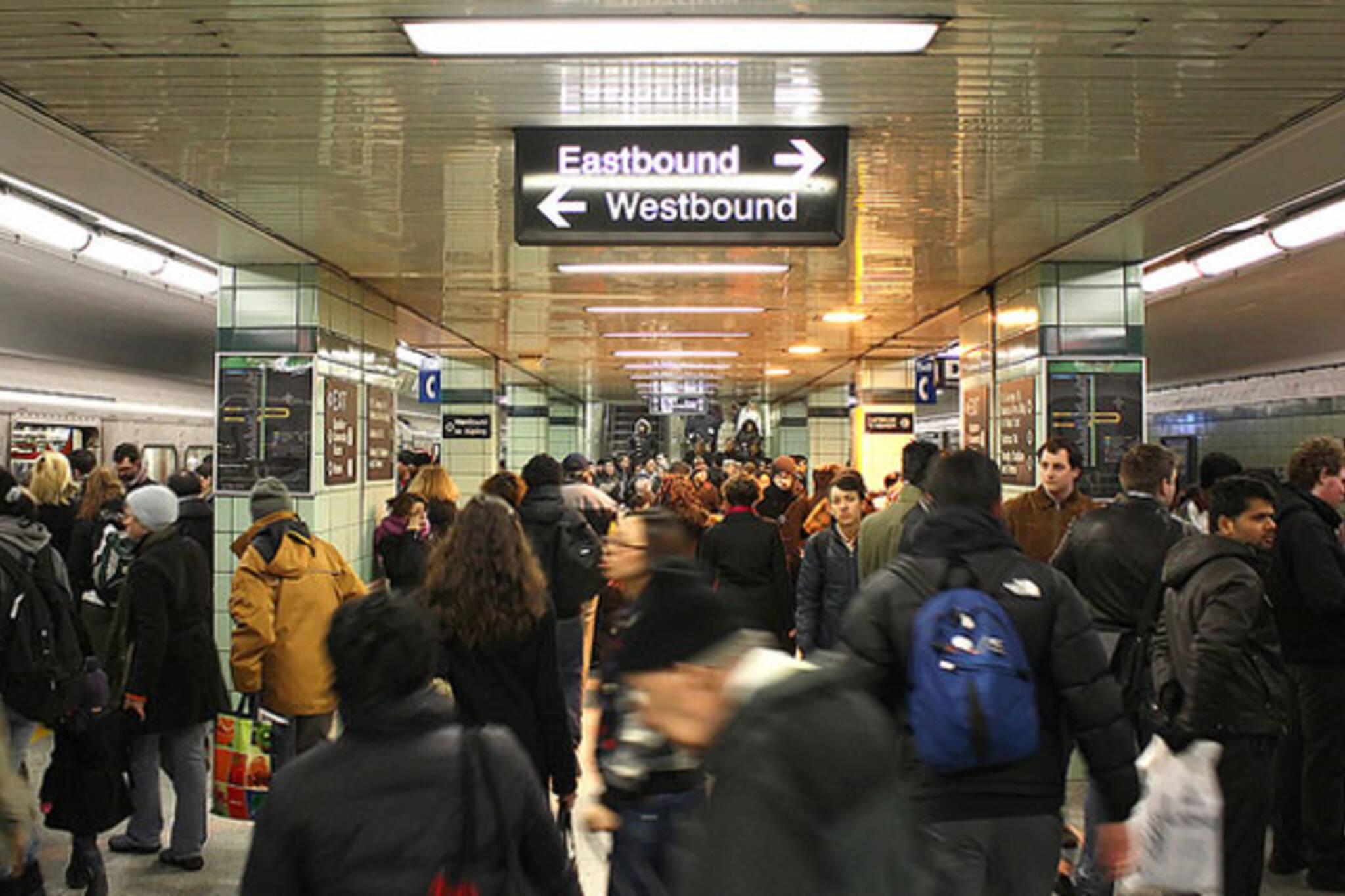 ttc subway stations