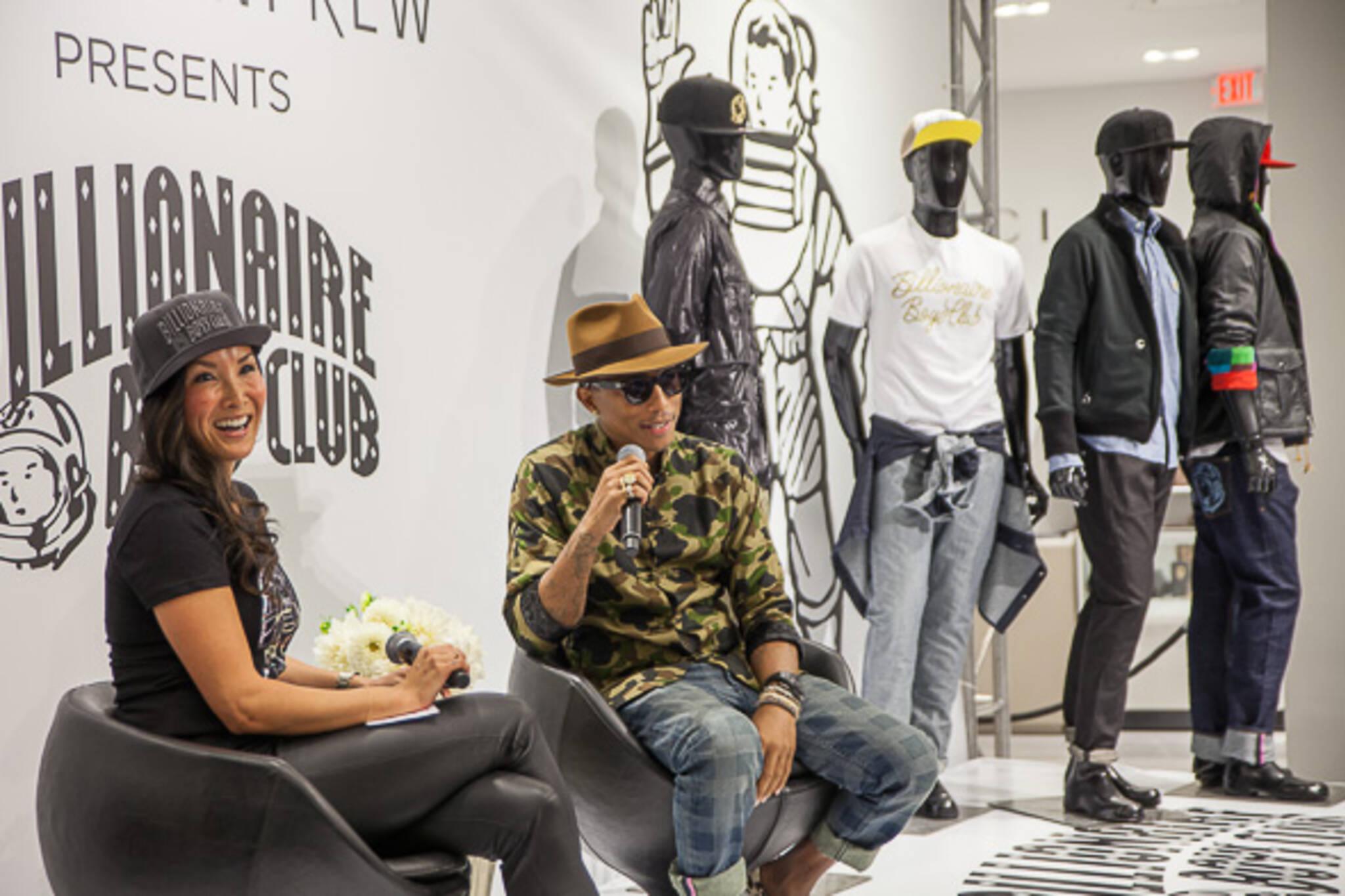 Pharrell williams billionaire boys club