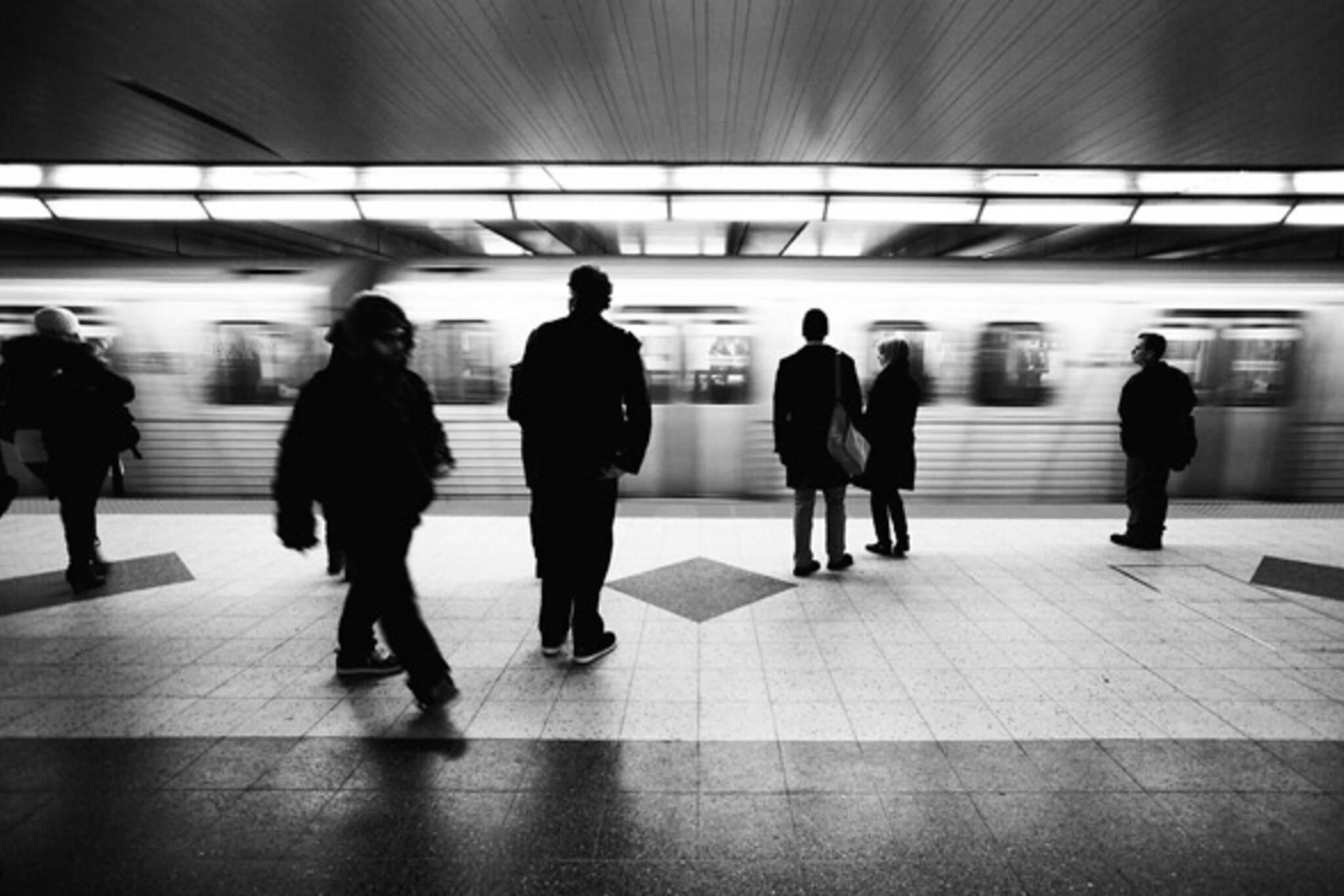 Bloor Station Platform