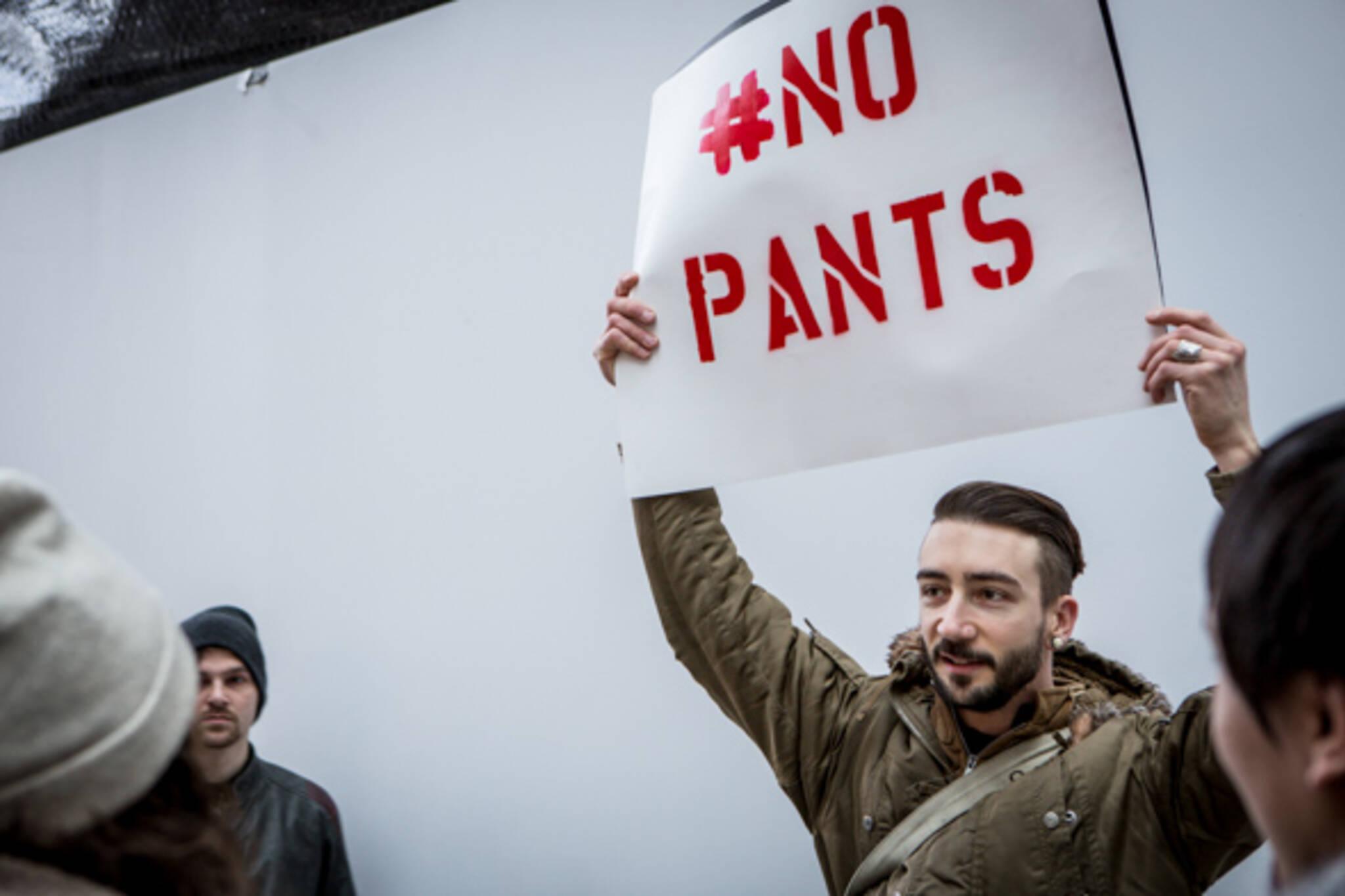 no pants toronto