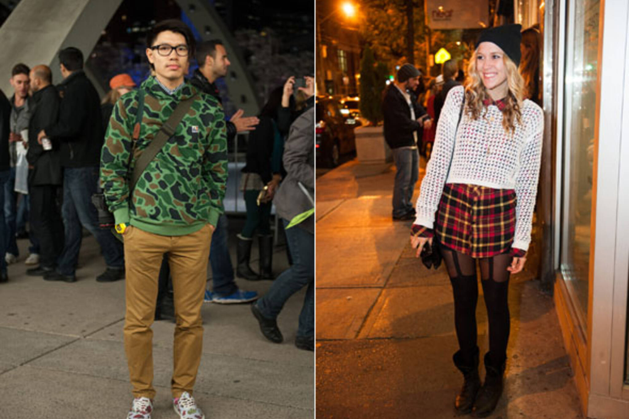 Nuit Blanche Street Style