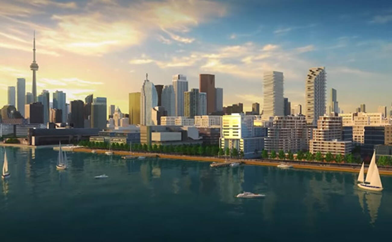 Waterfront Toronto Builds Hype With New Video