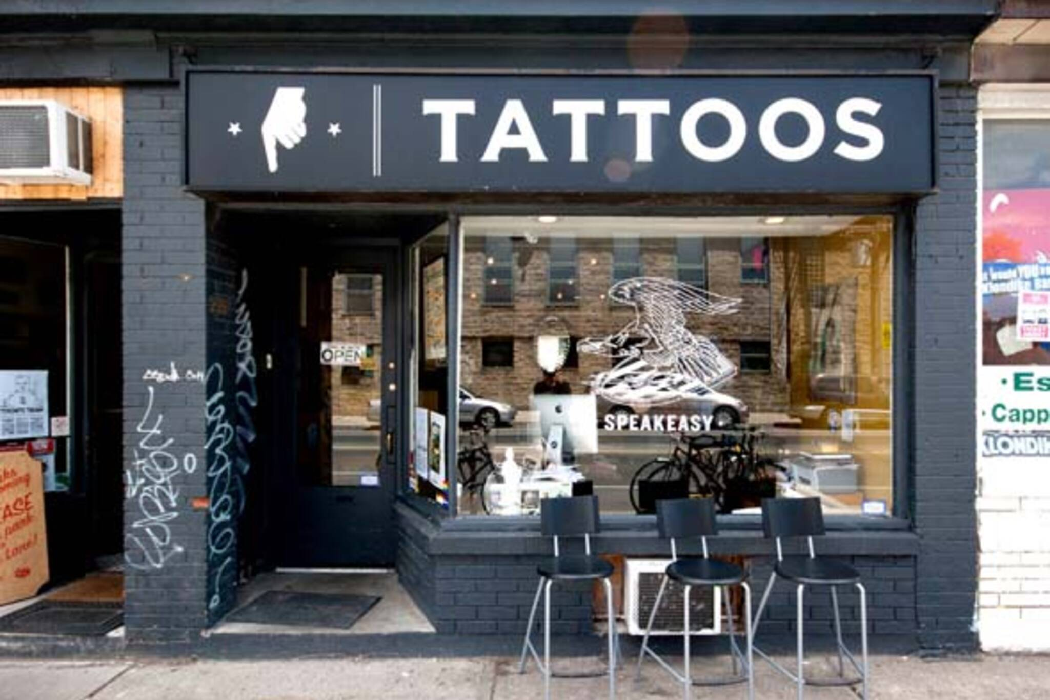Inside harbord street 39 s tattoo shop for Norristown tattoo shops