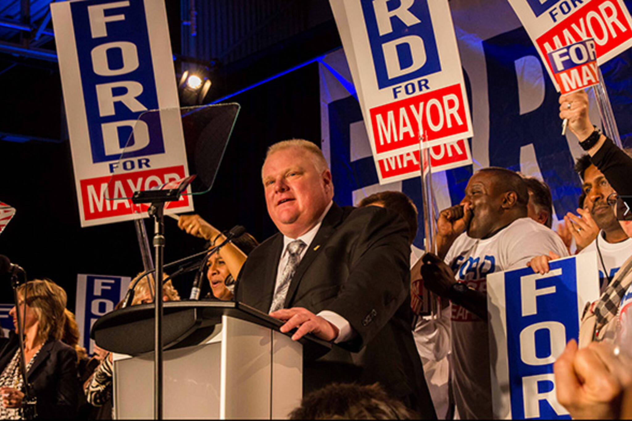 rob ford approval rating