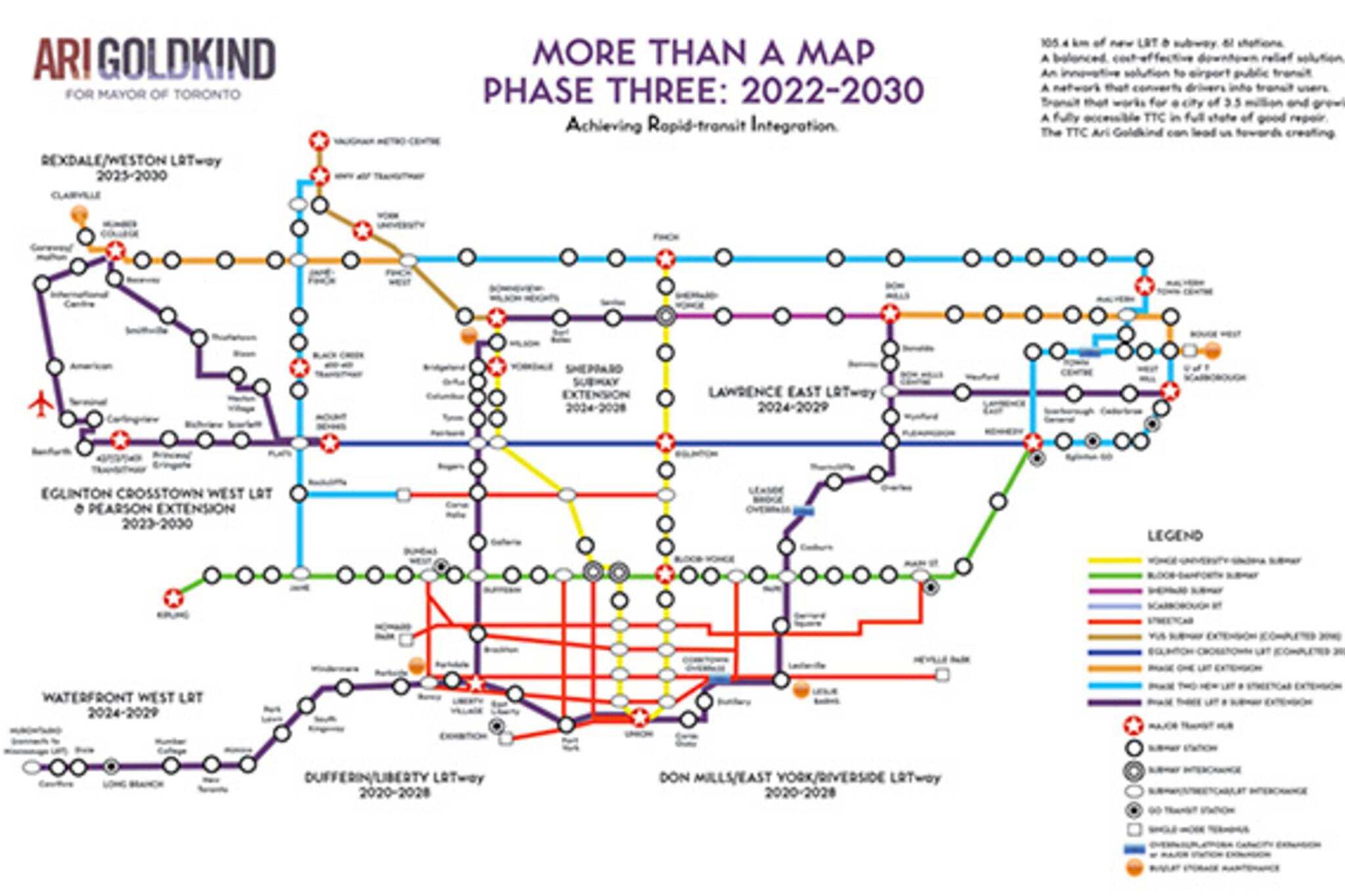 Ari Goldkind Transit Plan