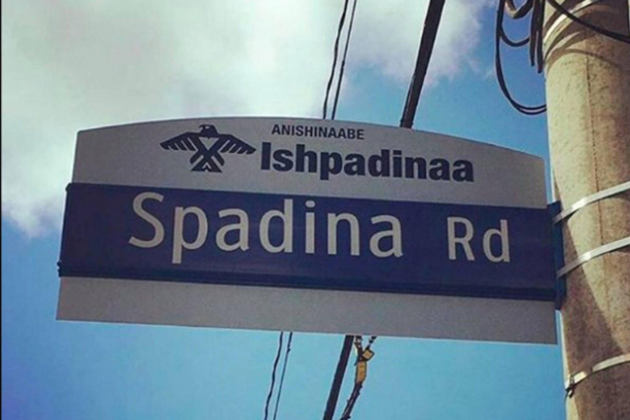 Indigenous street signs toronto