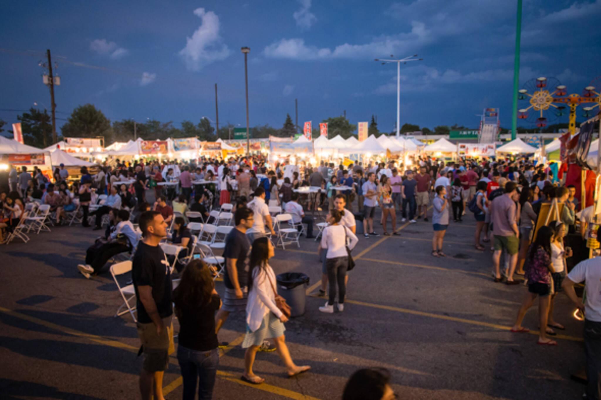 night markets toronto