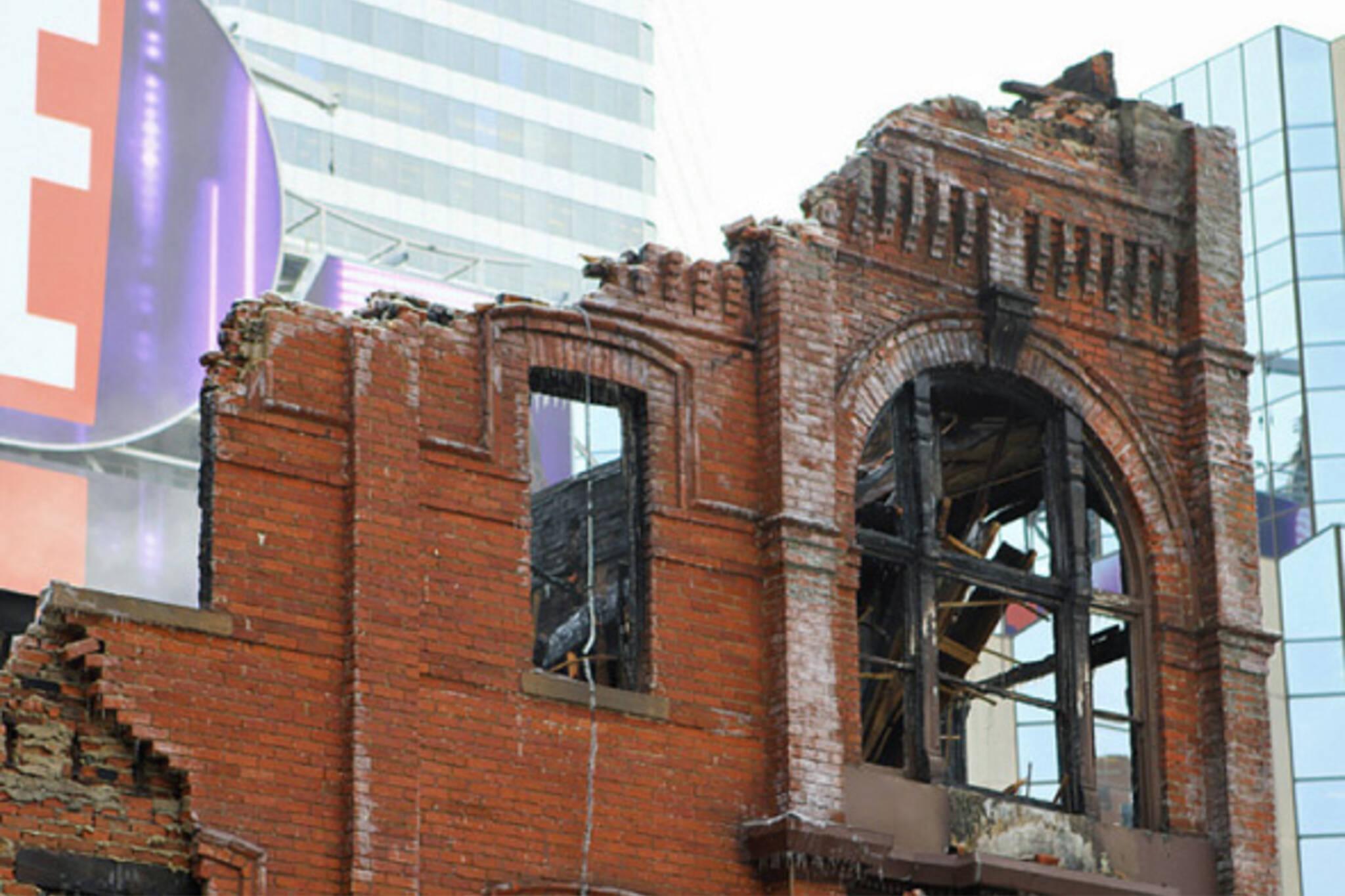 Yonge Gould Fire Building