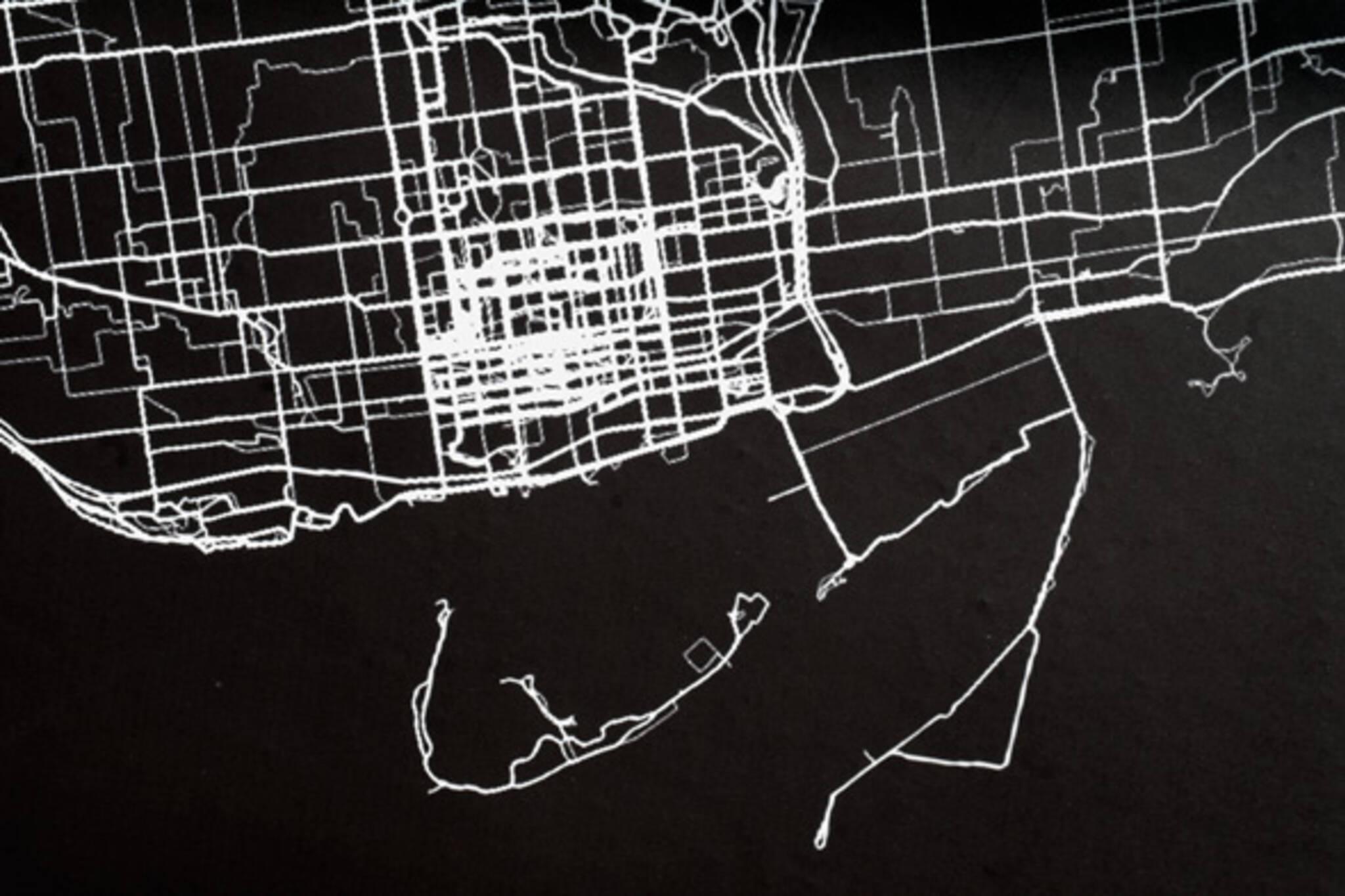 Plotting a City art show