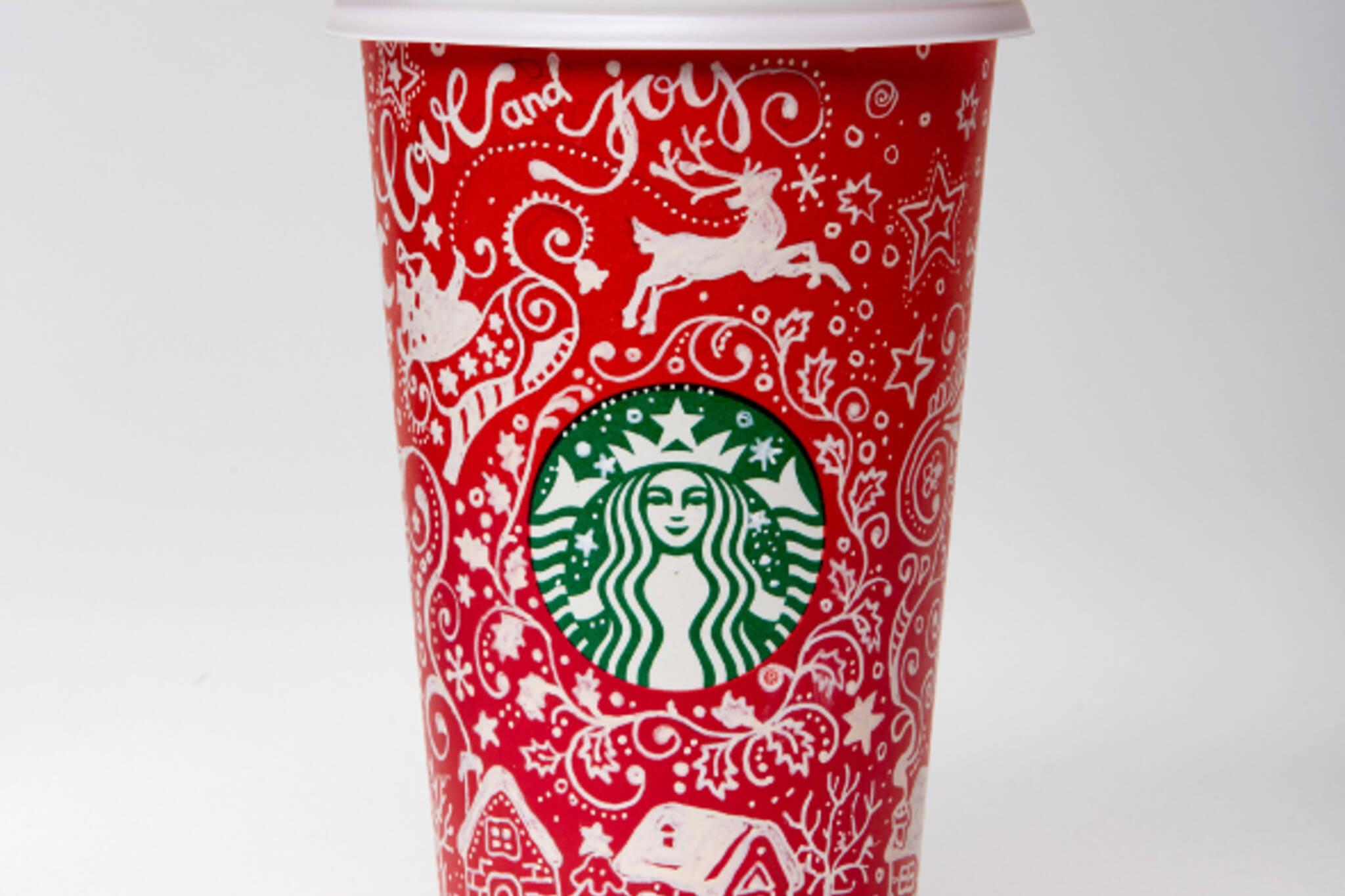 starbucks red cup toronto