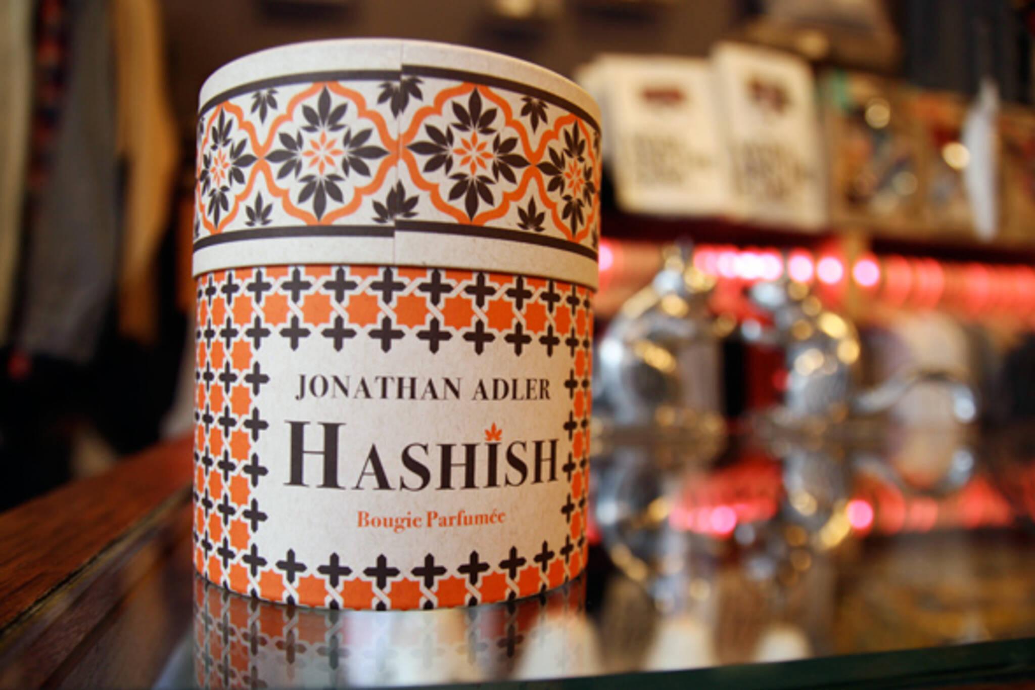 Jonathan Adler hashish candle