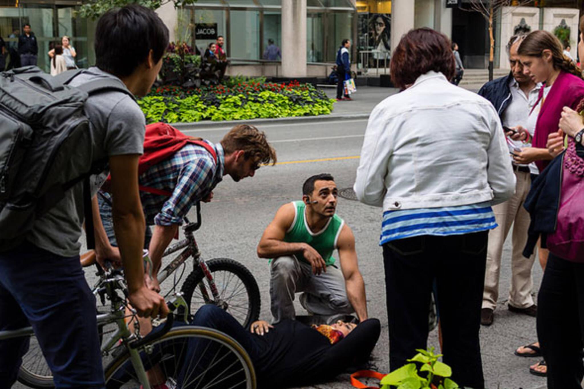 toronto bike accident