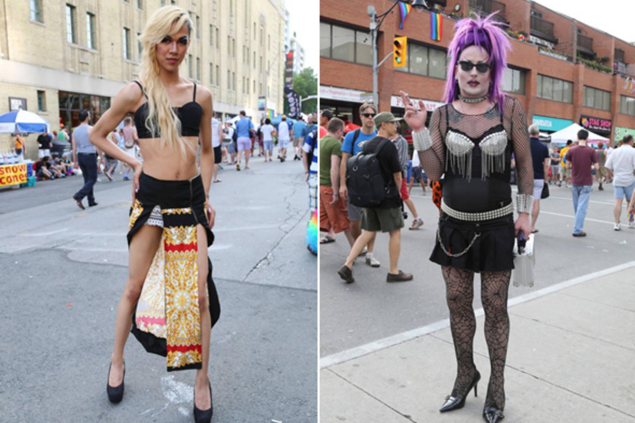 Street Style Toronto Pride