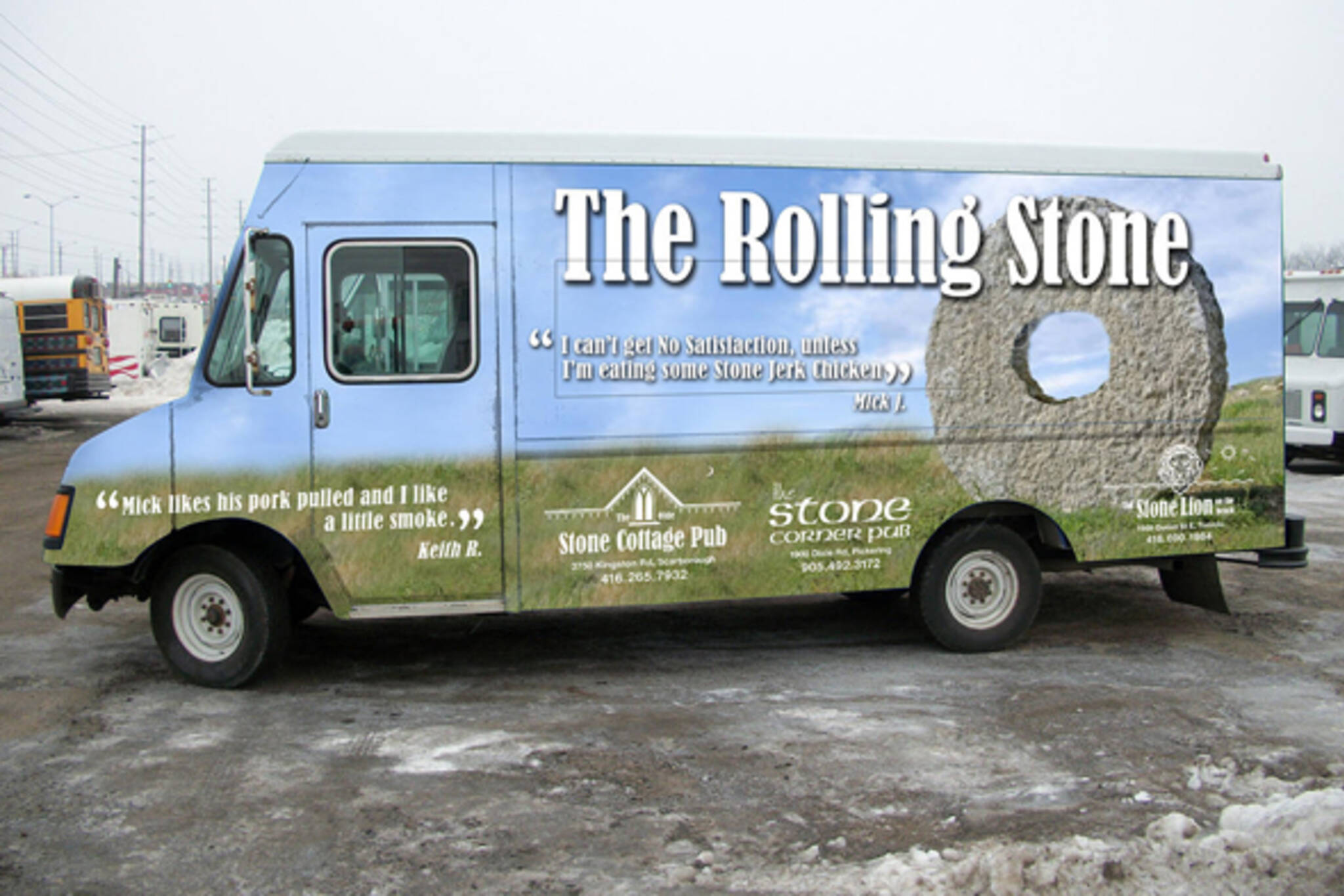 the rolling stone food truck