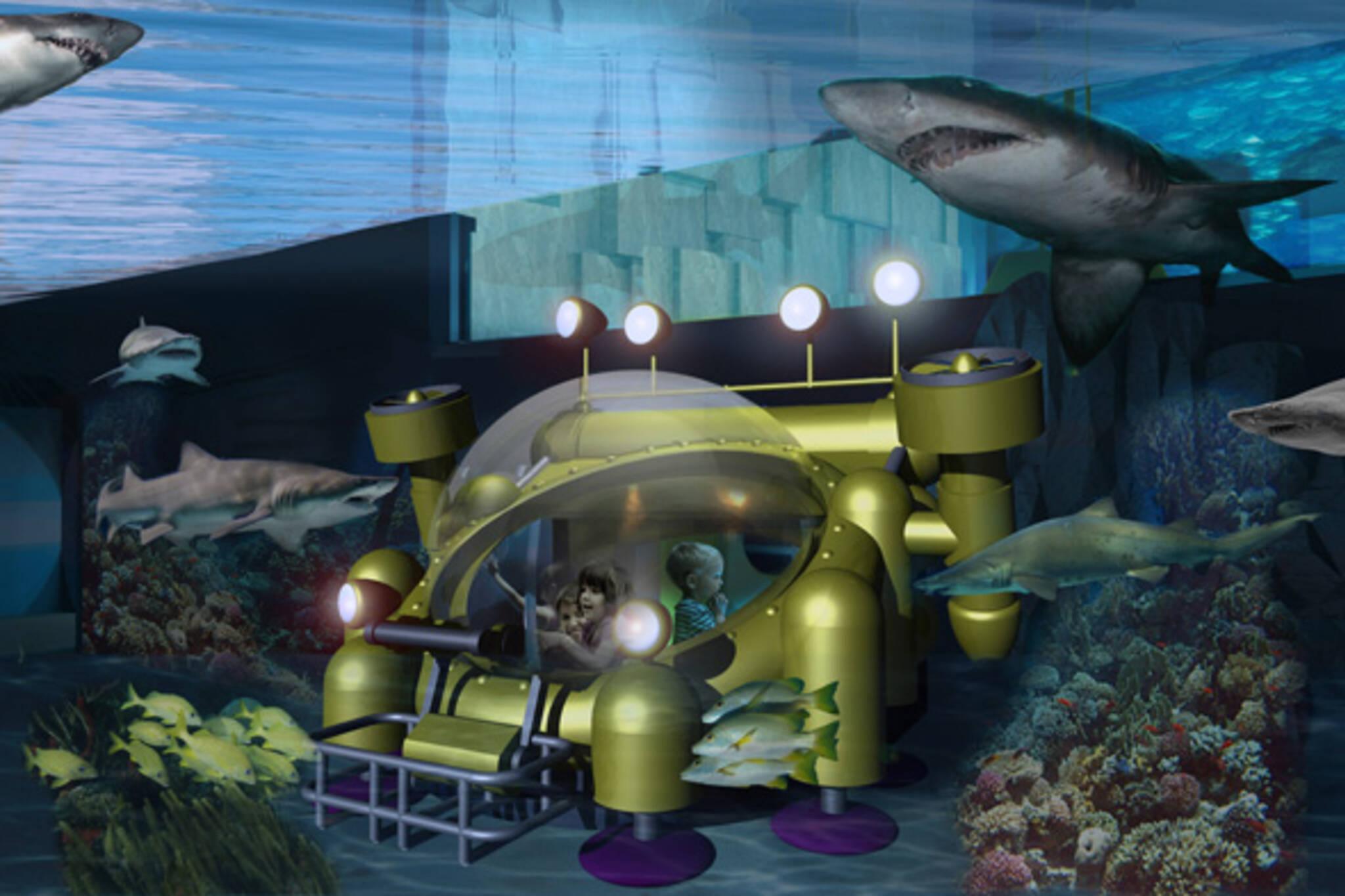 Ripley's Aquarium Toronto Canada
