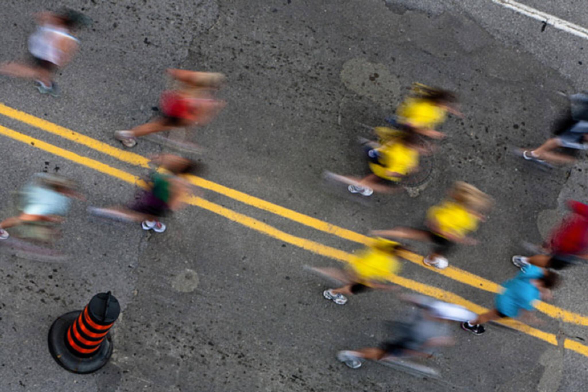 Toronto Goodlife Marathon road closures