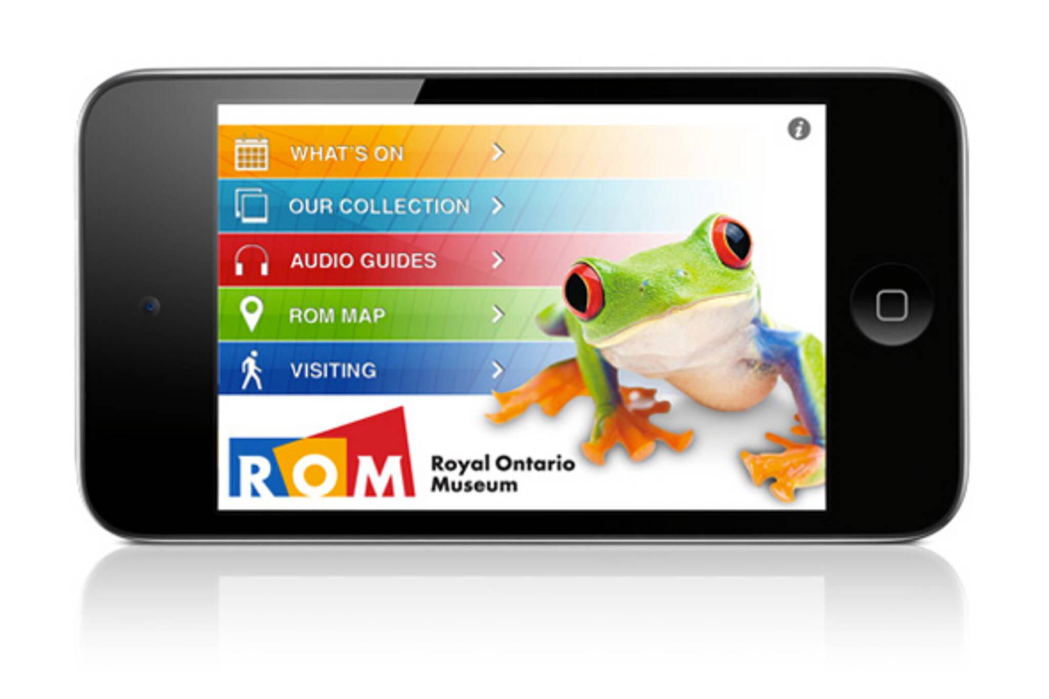 ROM iPhone App