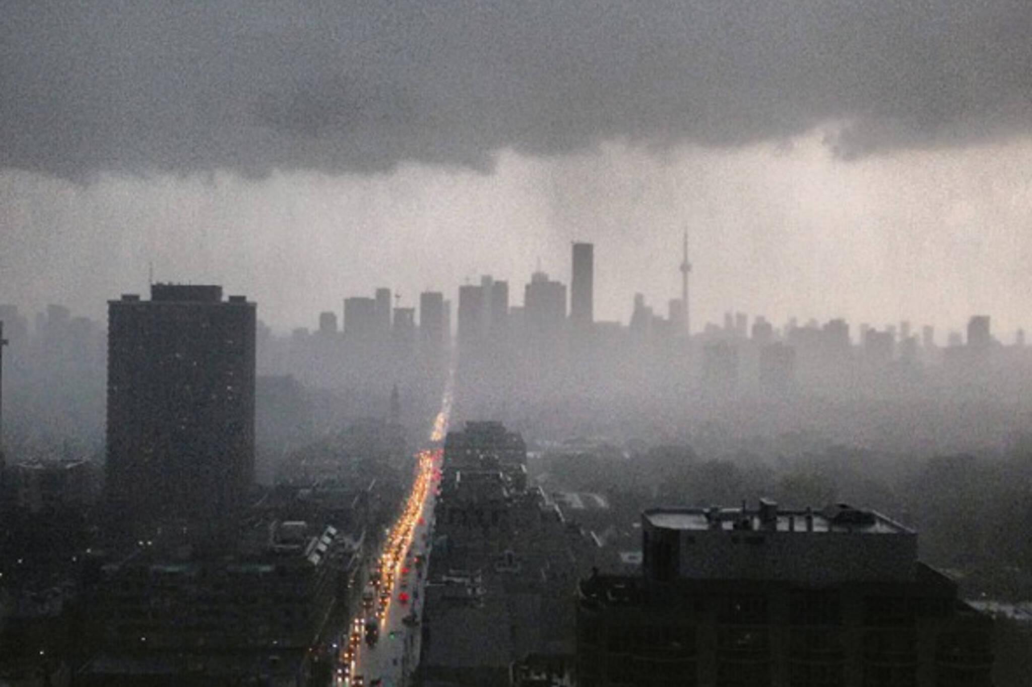 Rain storm toronto july 2013