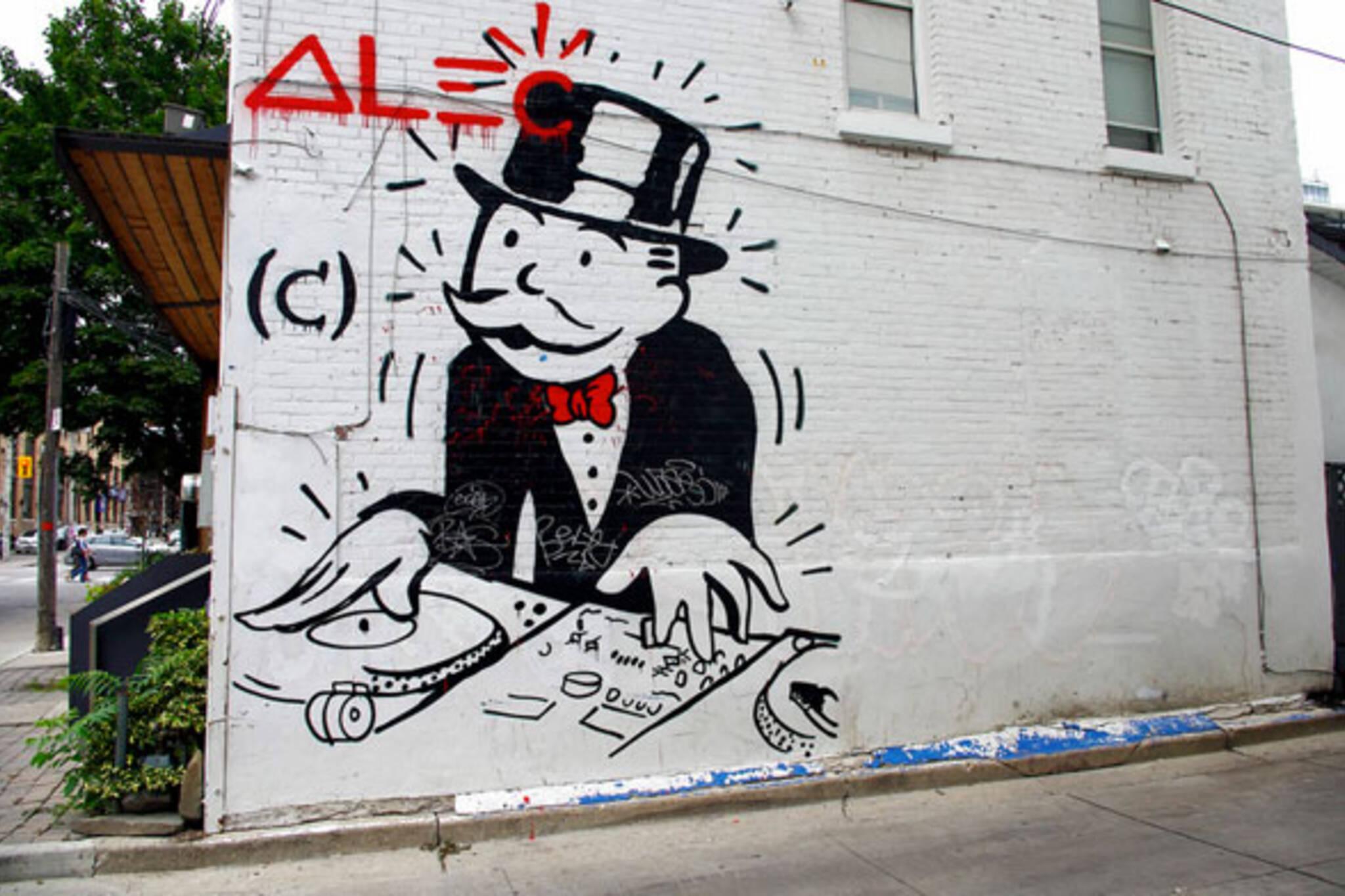 toronto monopoly mural