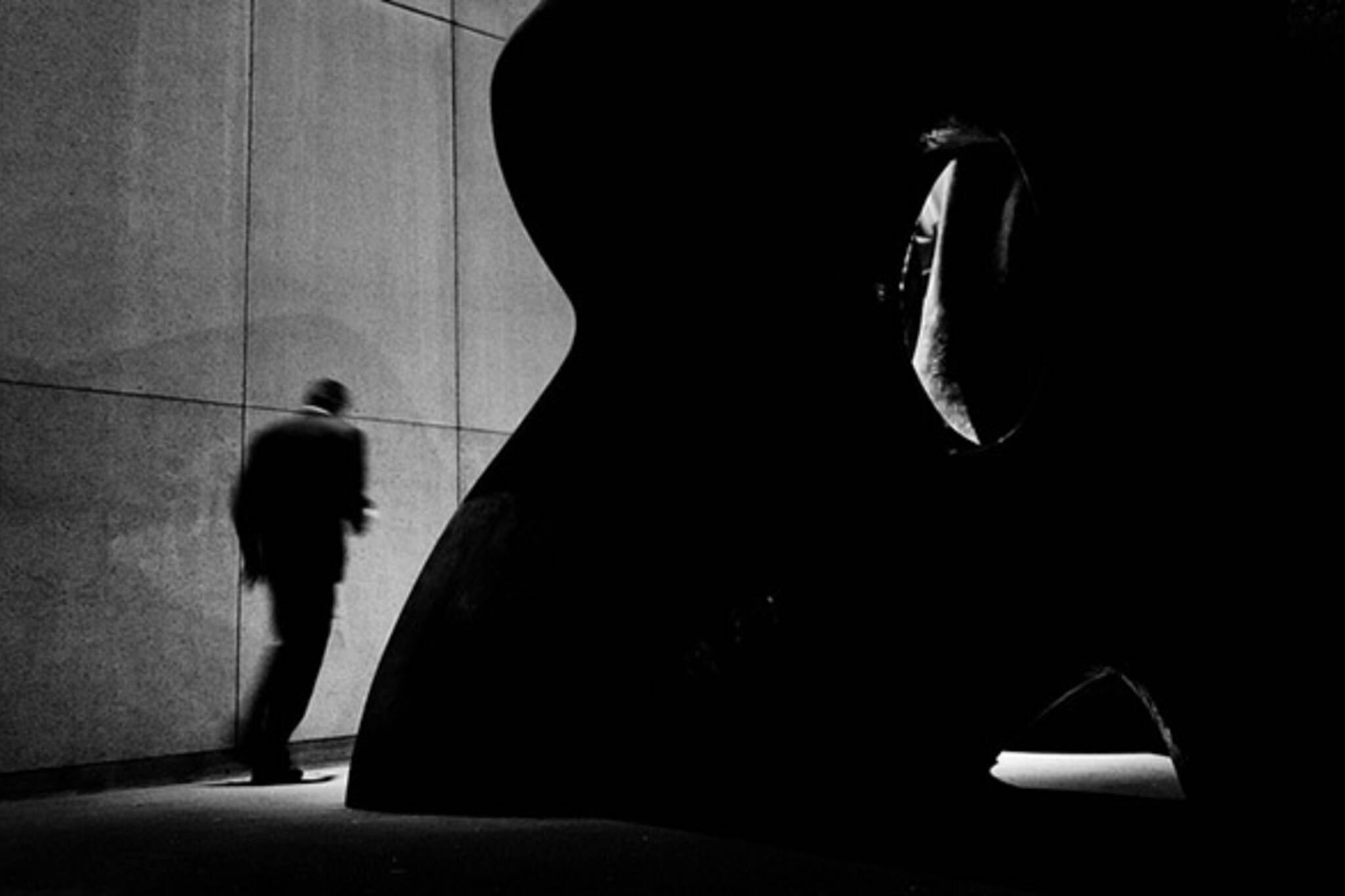 shadow and figure