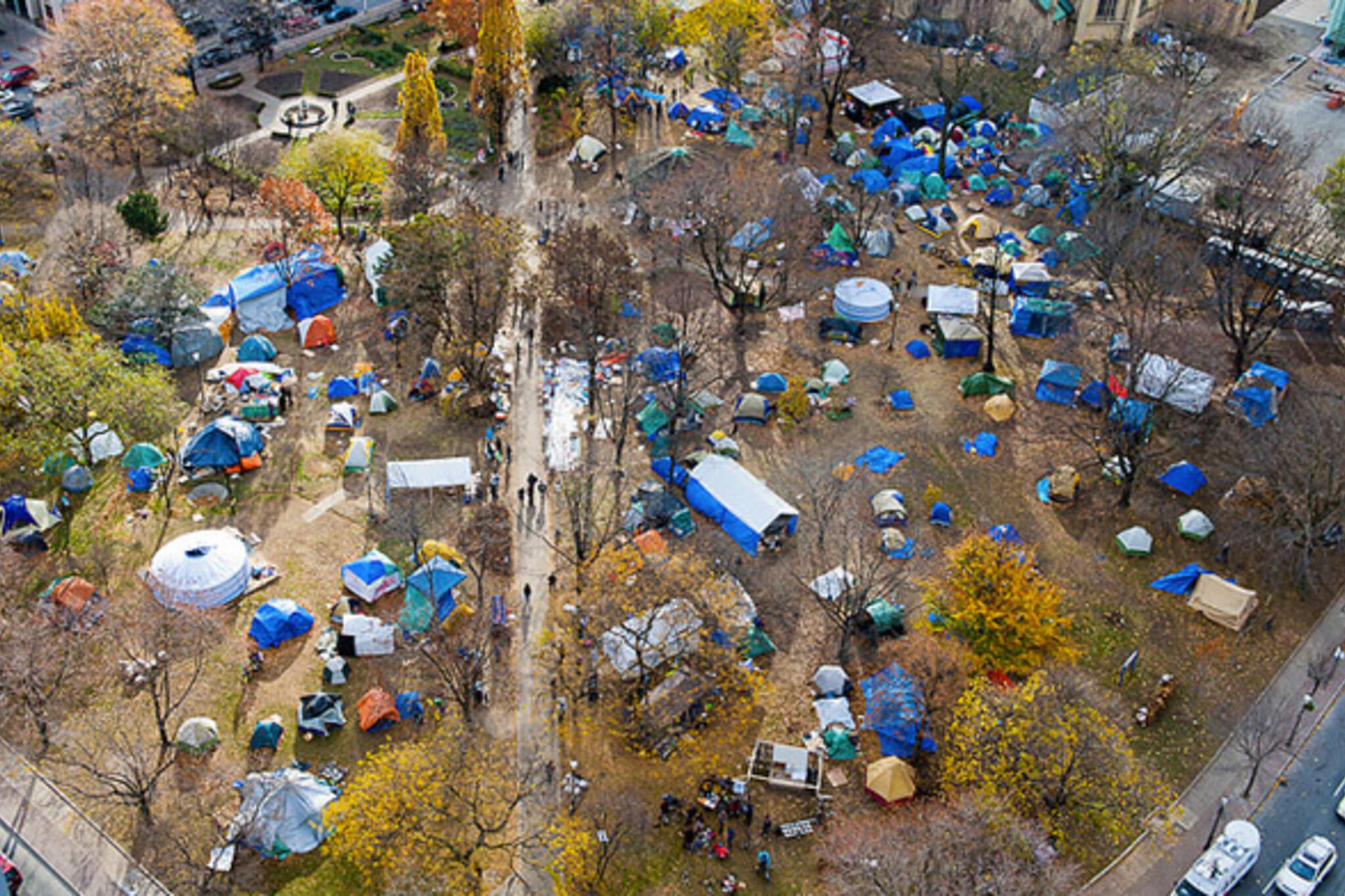 Occupy Toronto Eviction Notice
