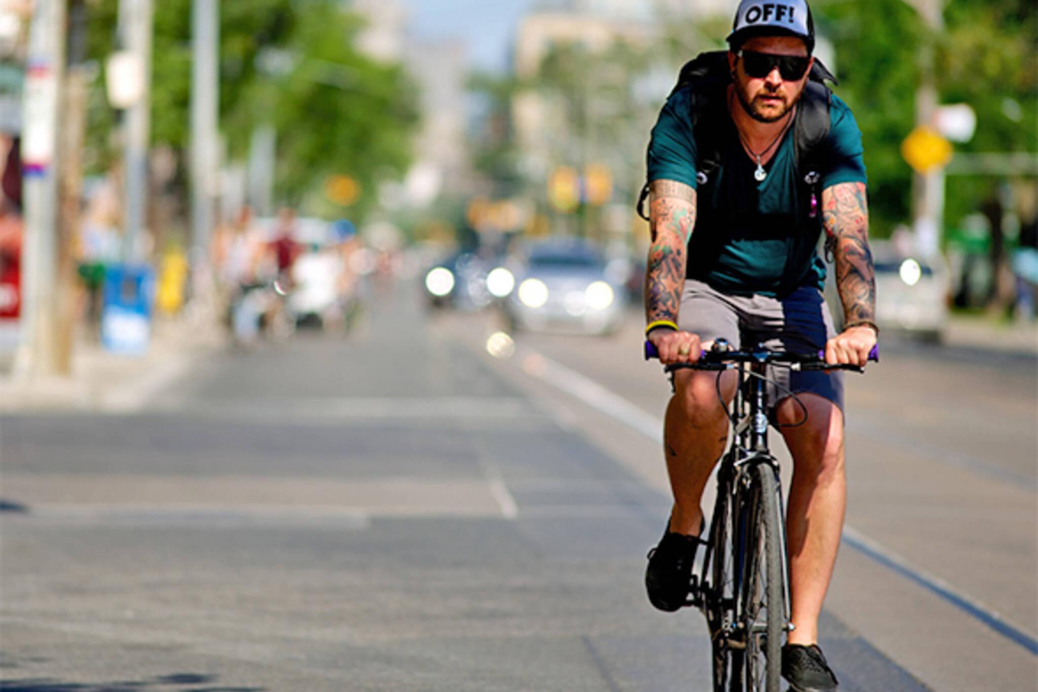 worst roads cycling toronto